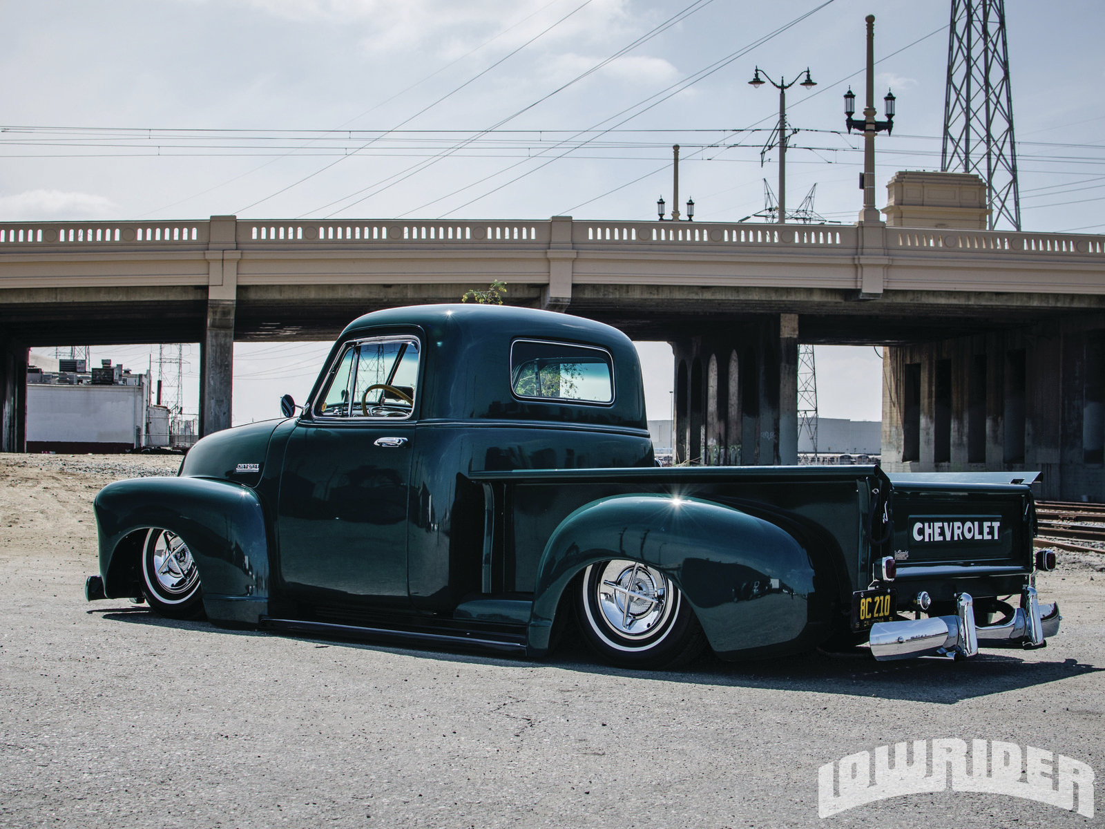 84 1951 Chev Pick Up Chevrolet Pickup Carry All Video 1 Dump Truck Source Lowrider Magazine