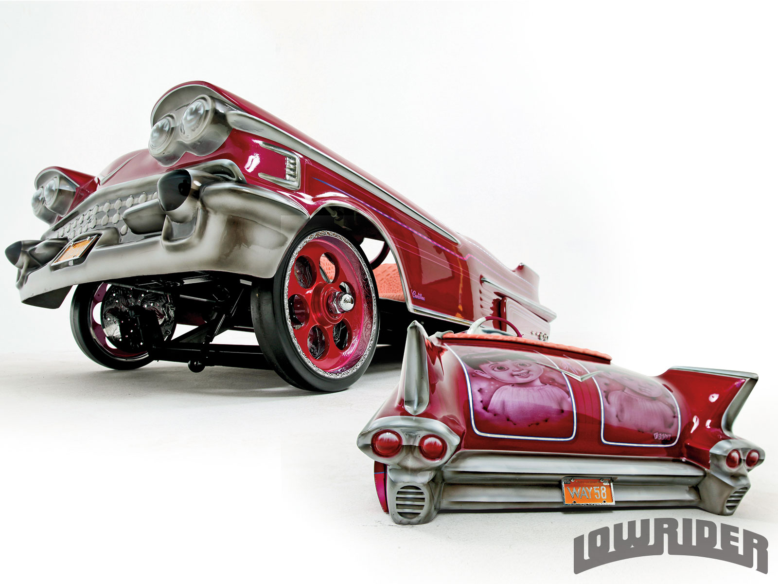 1305-1958-cadillac-pedal-car-double-feature2 - Lowrider