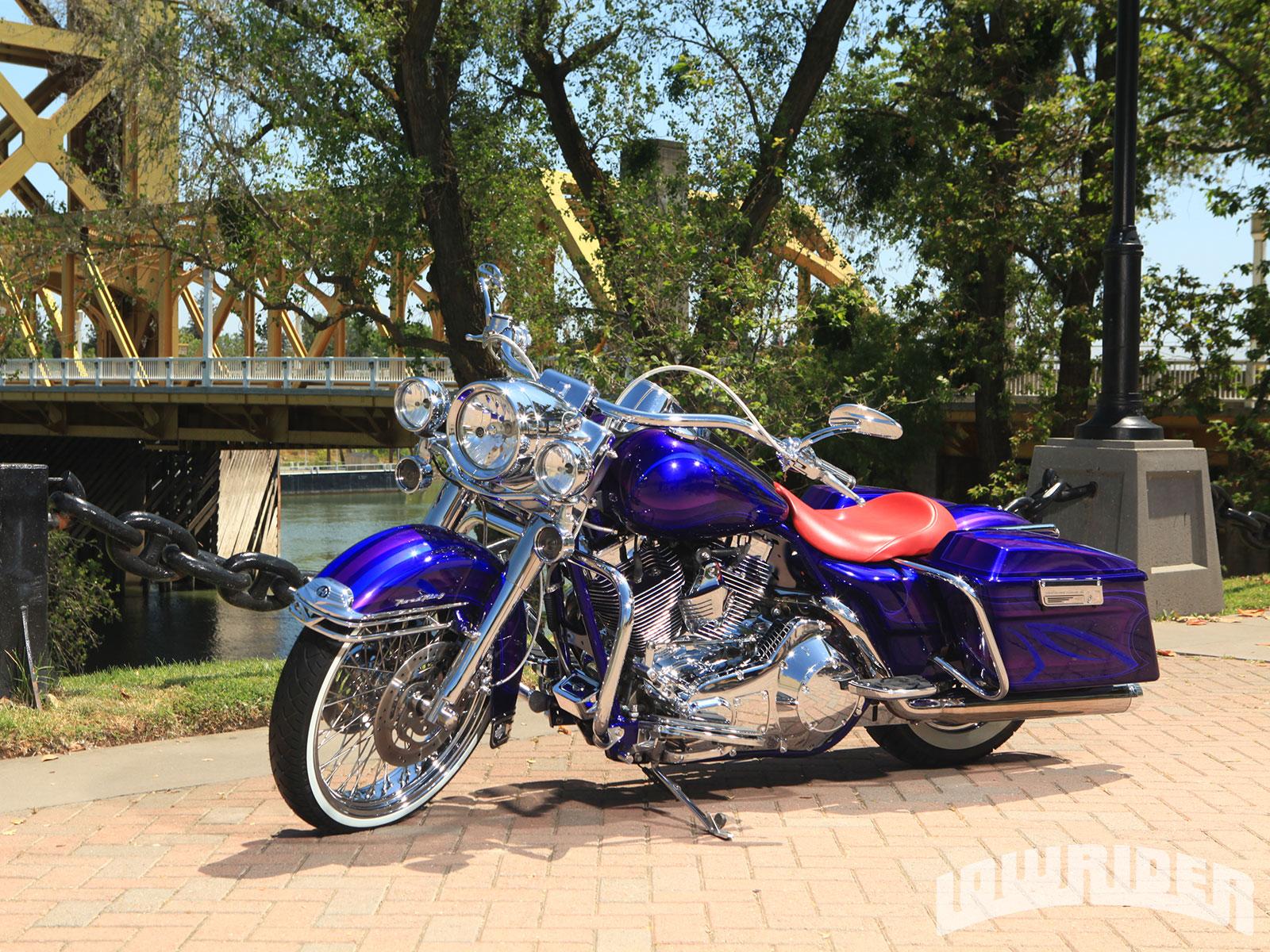 2006 Harley Davidson Road King Lowrider Magazine