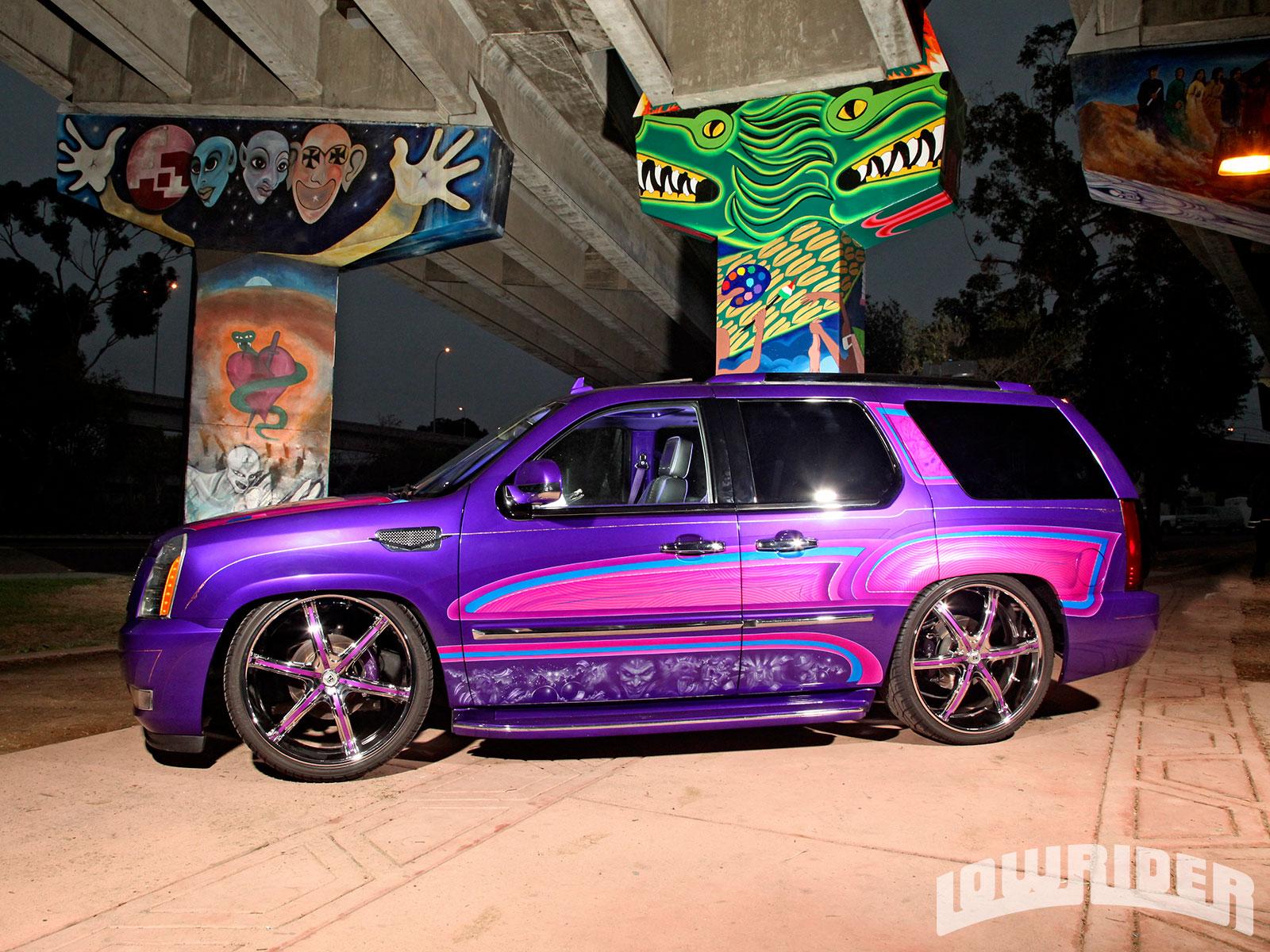 2007 Cadillac Escalade - La Barbie - Lowrider Magazine