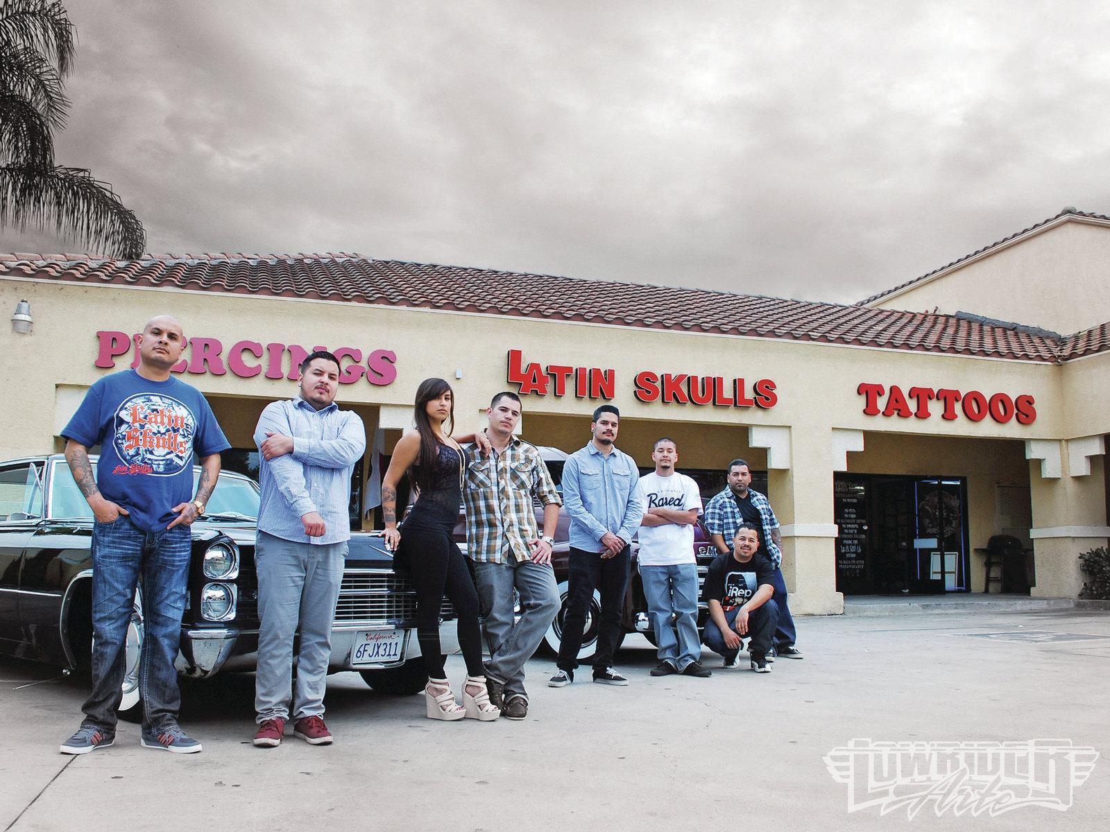 bb44801cd Latin Skulls Tattoo Studio - Shop Visit - Lowrider Arte Magazine