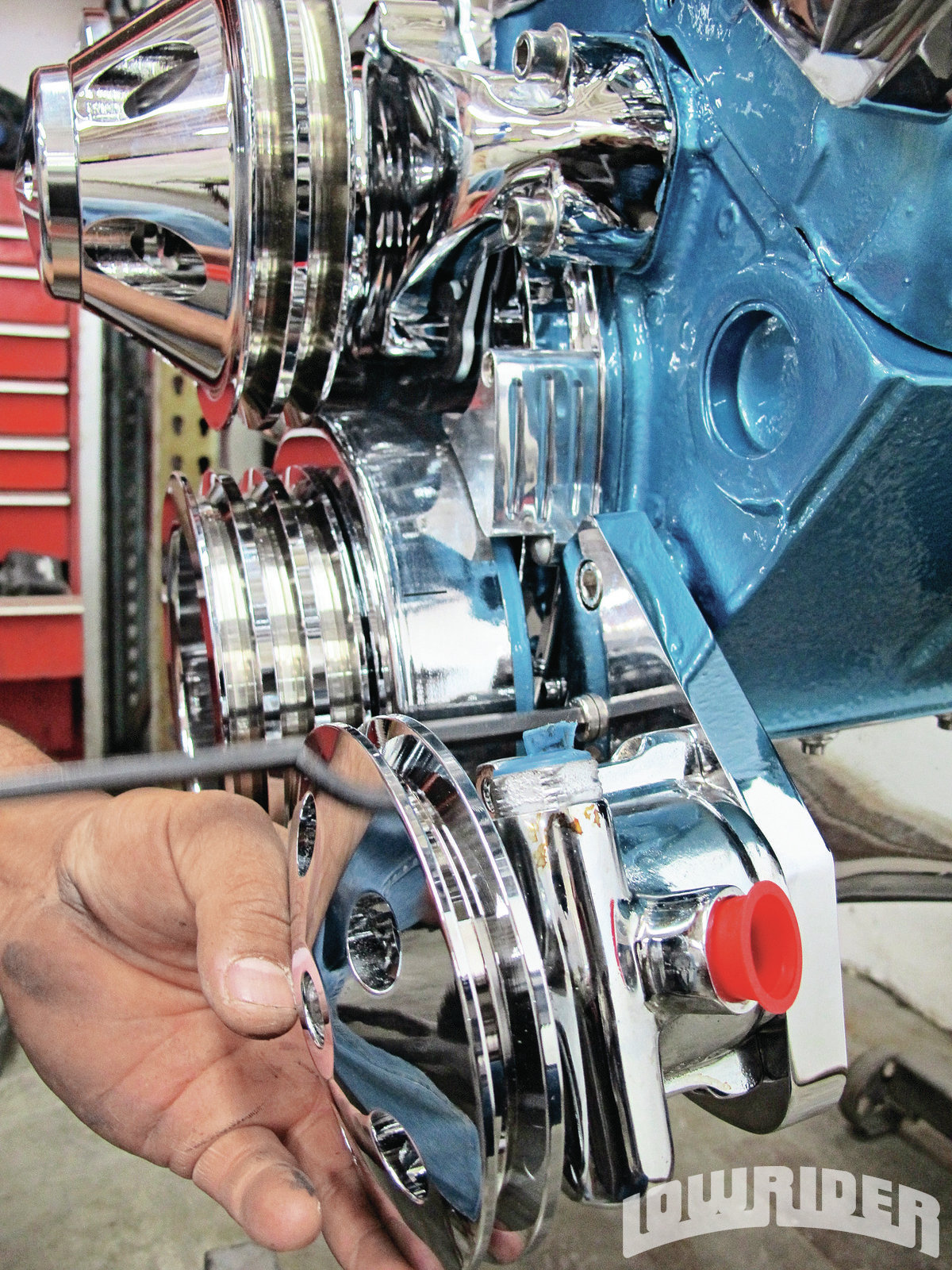 Power Steering Problems >> New CFR Engine Bracket and Pulley Kit Installation ...