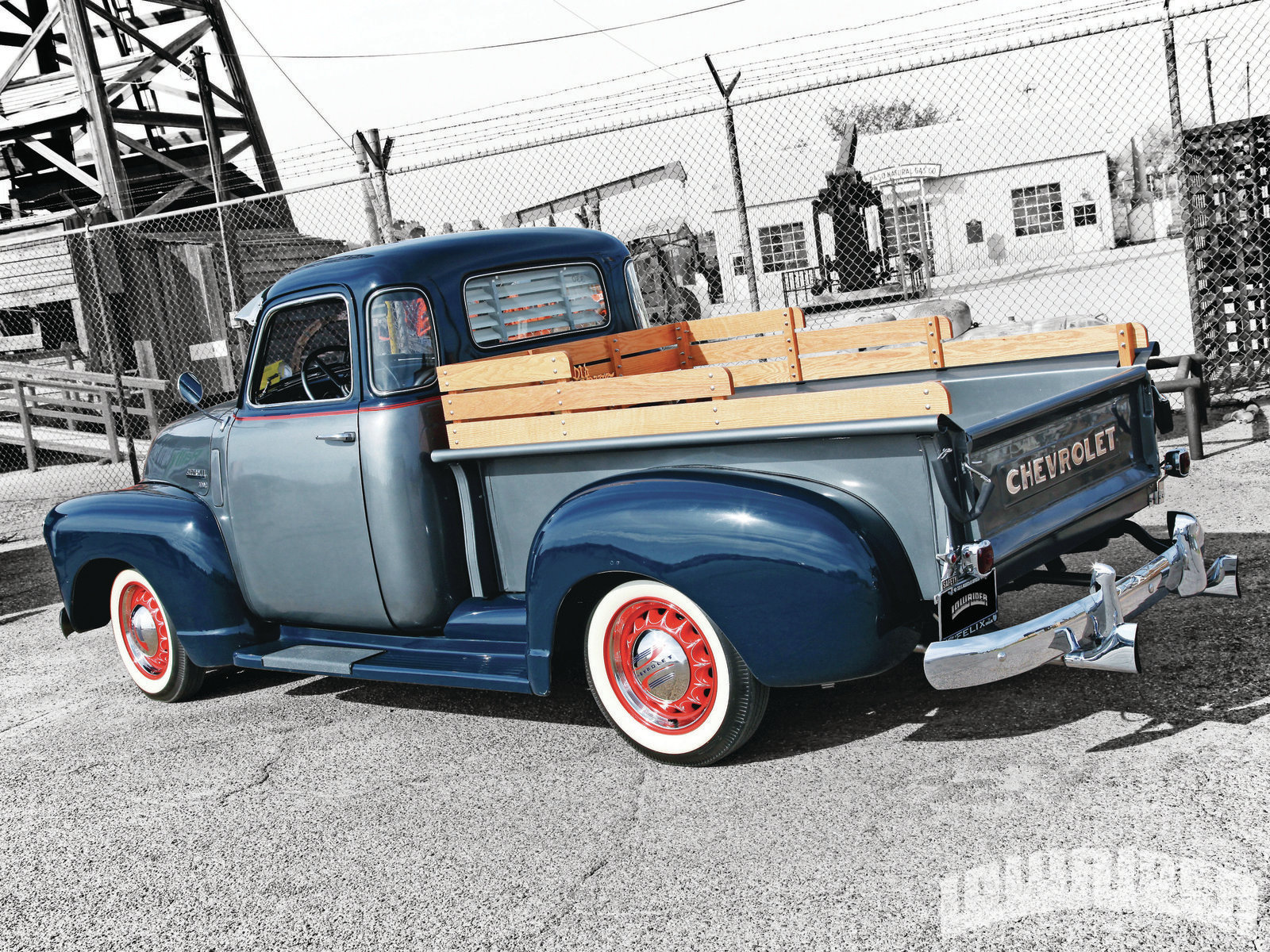 1949 Chevrolet 3100 Truck Rear Left View Lowrider Chevy Vin Number