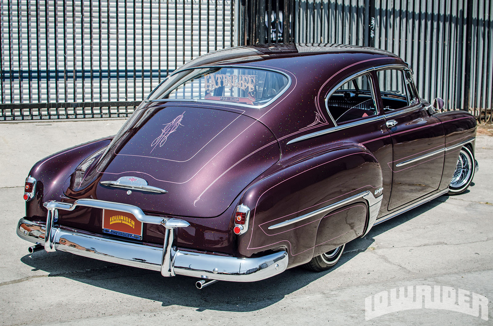 All Chevy 1952 chevy styleline parts : 1952 Chevrolet Fleetline Deluxe - Lowrider Magazine