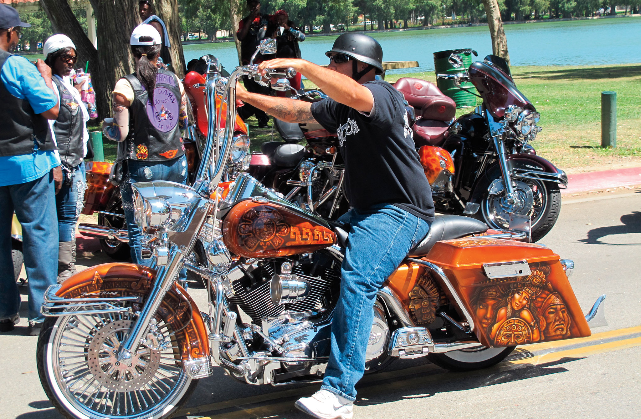 Riverside Custom Bike Show Harley Davidson Road King