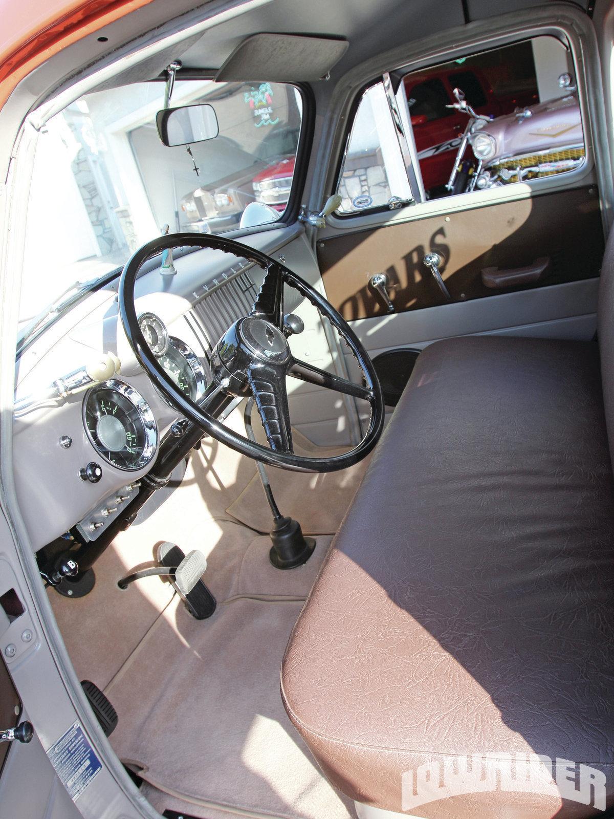 Chevrolet Interior on 235 Chevy Engine Specs