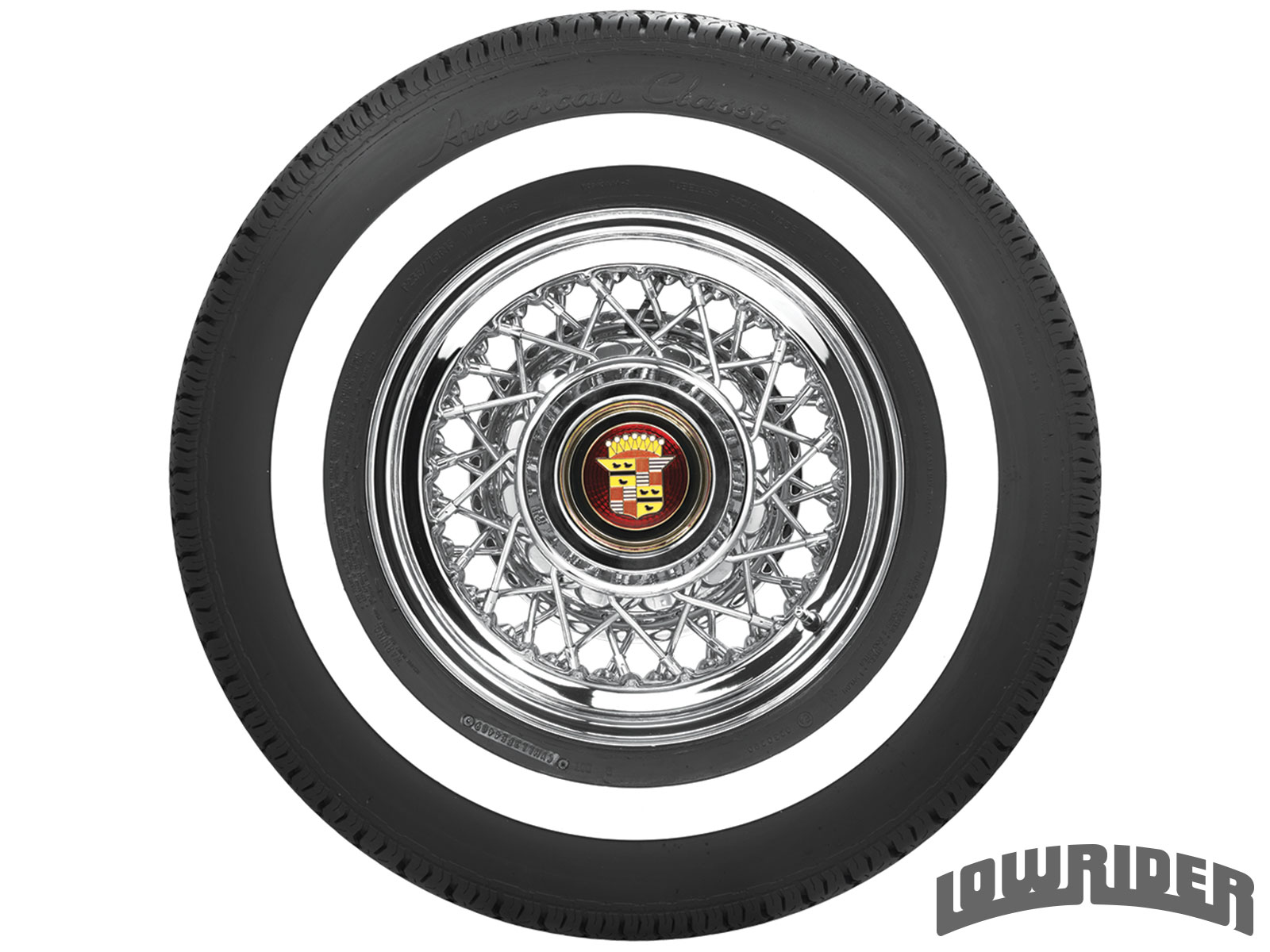 <center><strong>American Classic 1 Inch Whitewall</strong><br/>215/75R15</center>