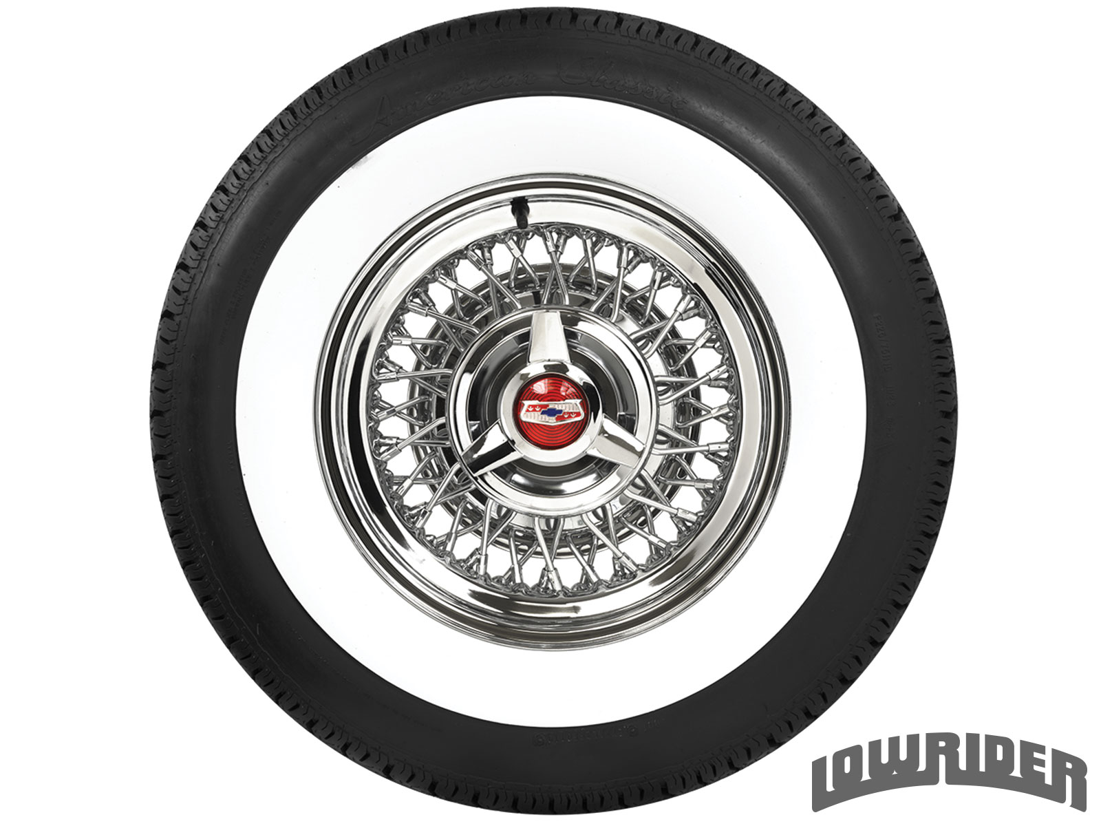 <center><strong>Coker Classic Whitewall</strong><br/> 2 3/8 205/75R14</center>