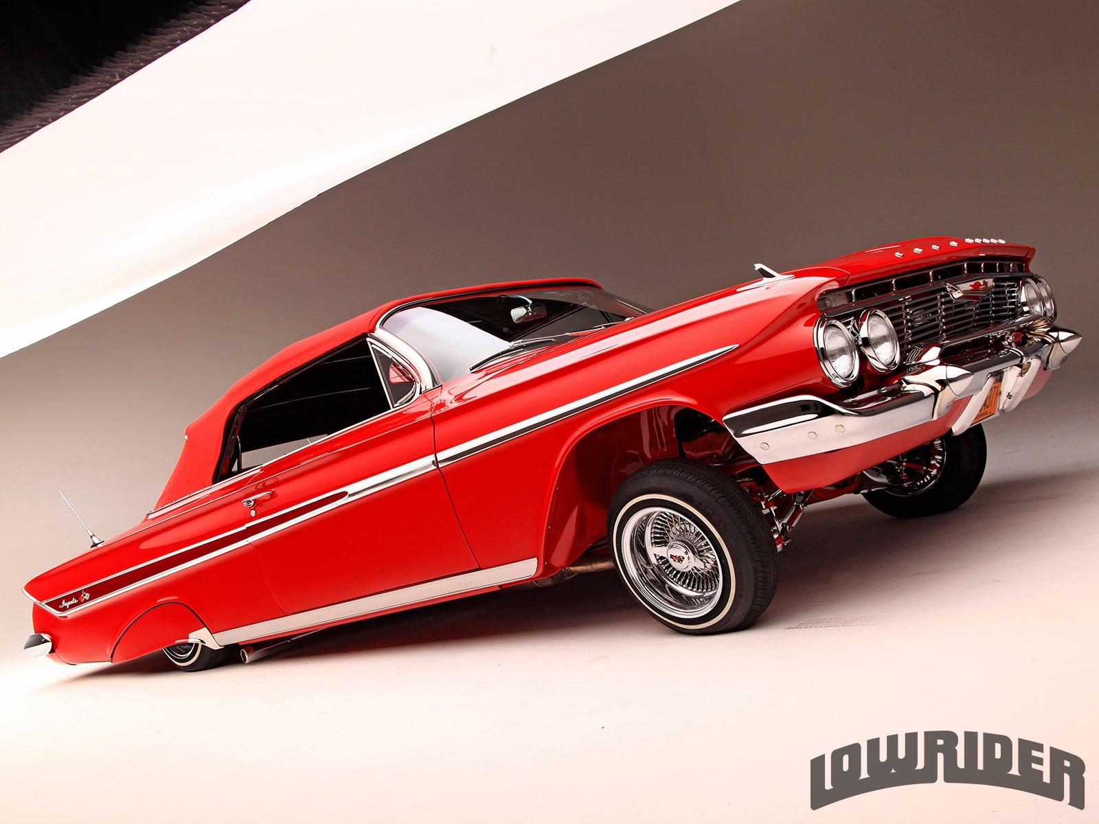 1961 Chevrolet Impala Nyc Rotten Apple Lowrider Magazine