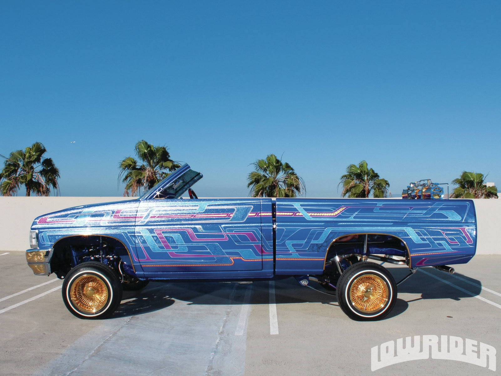 1987 Nissan Hardbody Crown Royal Lowrider Magazine