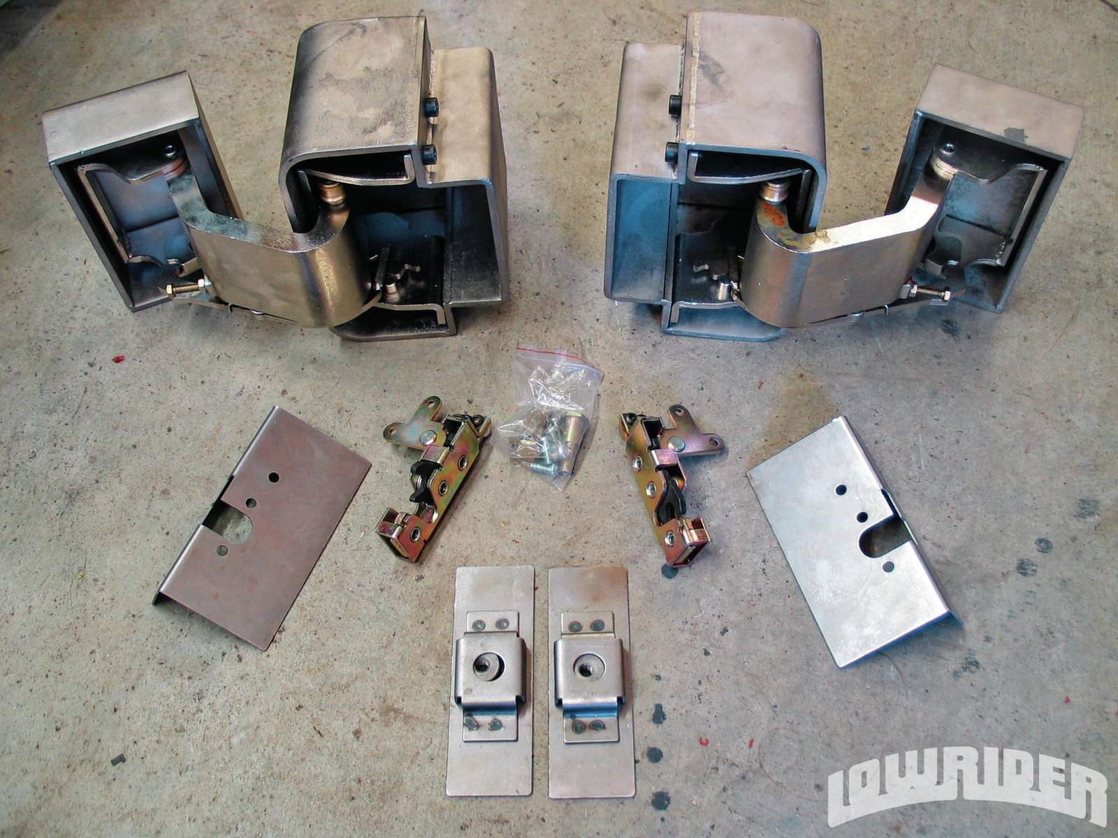 Suicide Door Hinge Kit Lowrider Magazine