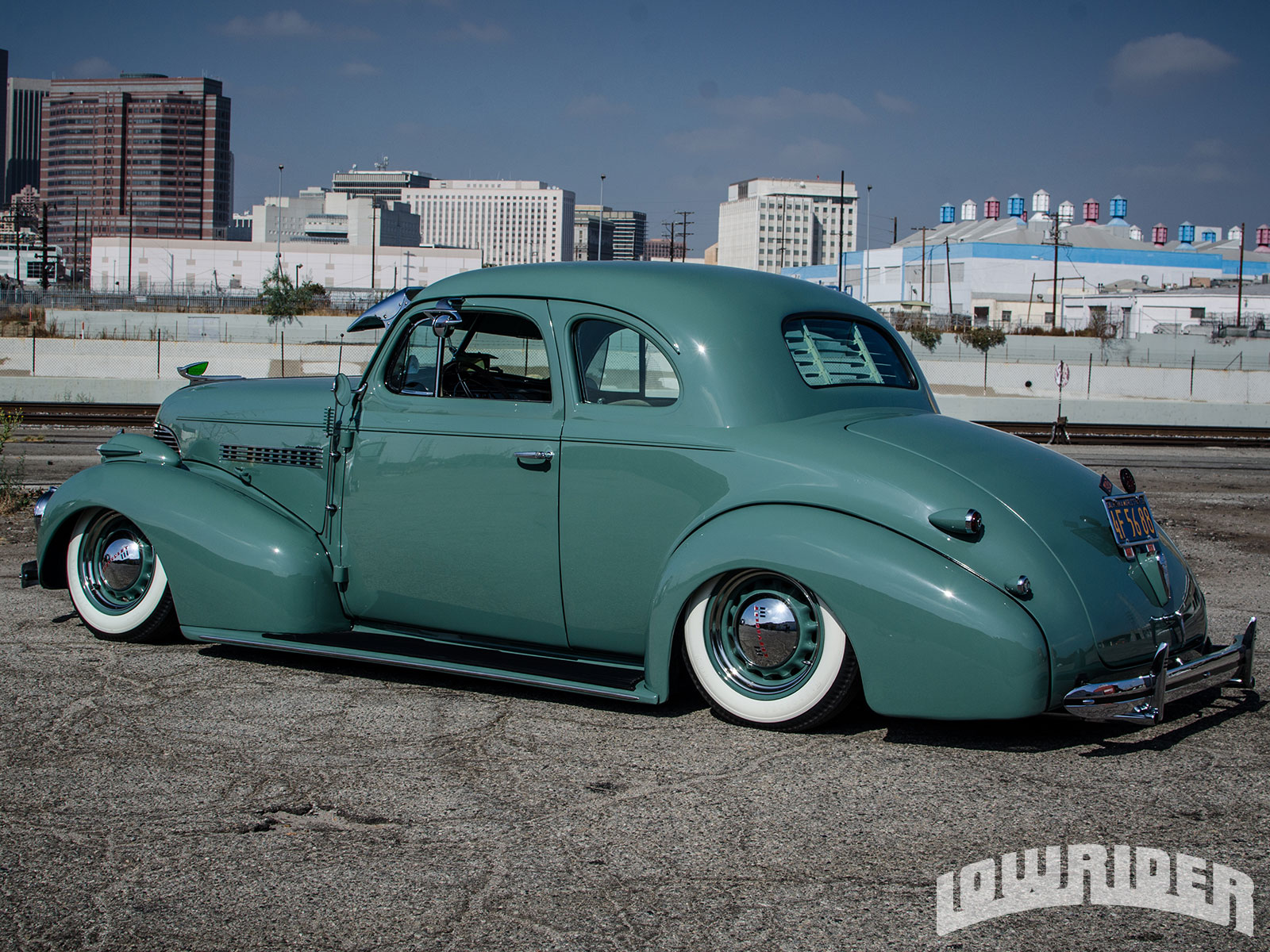 1939 Chevrolet Business Coupe Machine Green 23 Adver To Skip 1