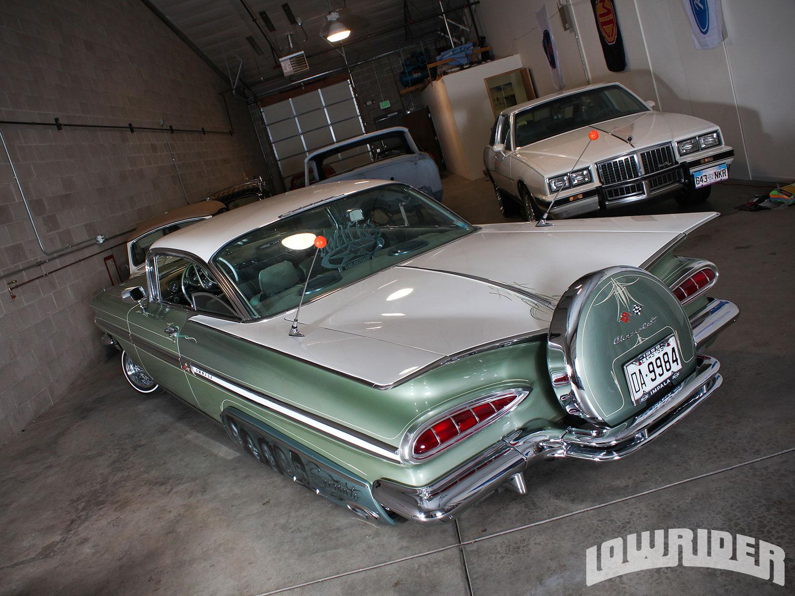 1959 Chevrolet Impala Lowrider Magazine Chevy Rear Wiring Harness 13 25