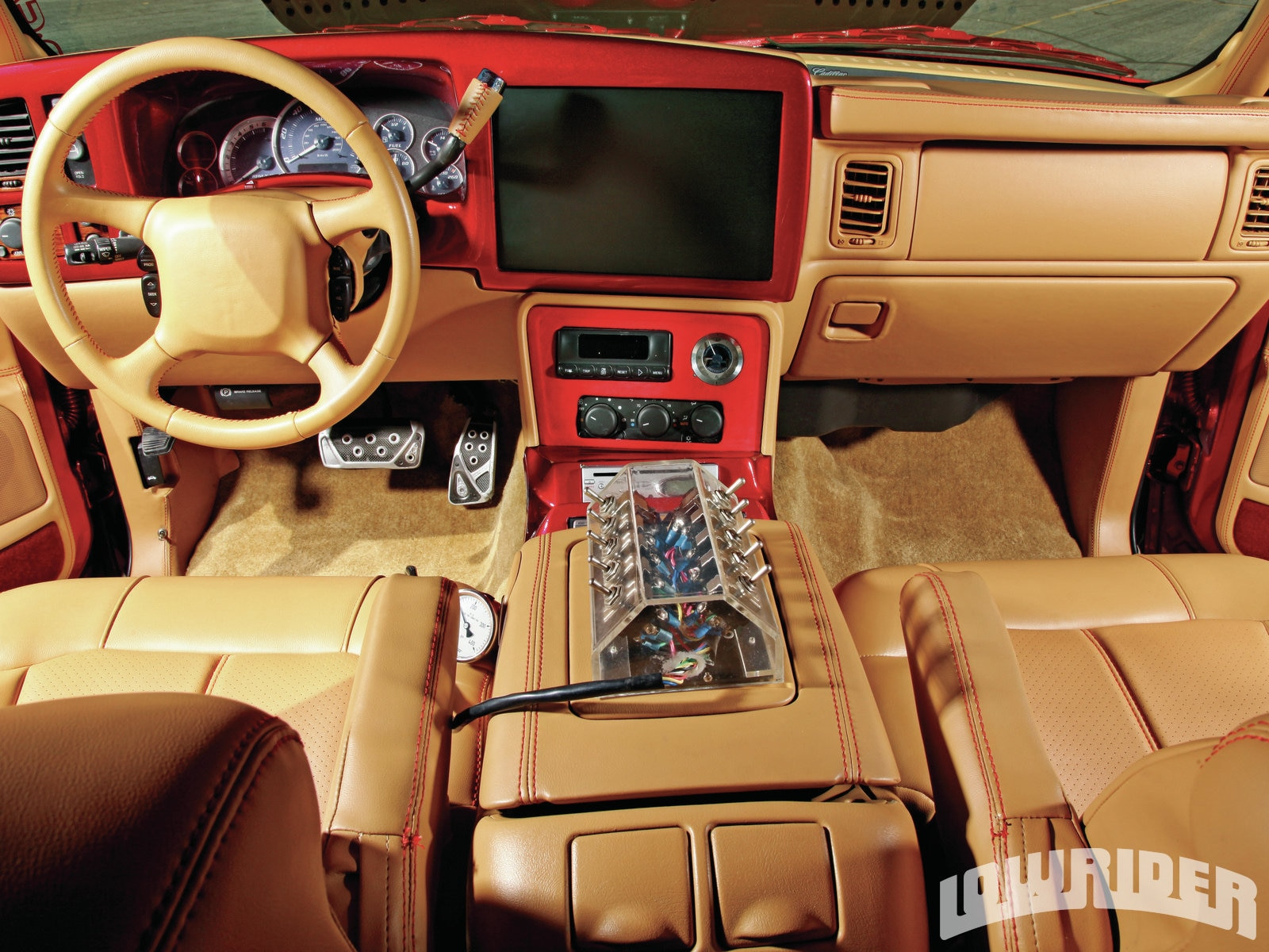 2002 cadillac escalade lowrider magazine. Black Bedroom Furniture Sets. Home Design Ideas