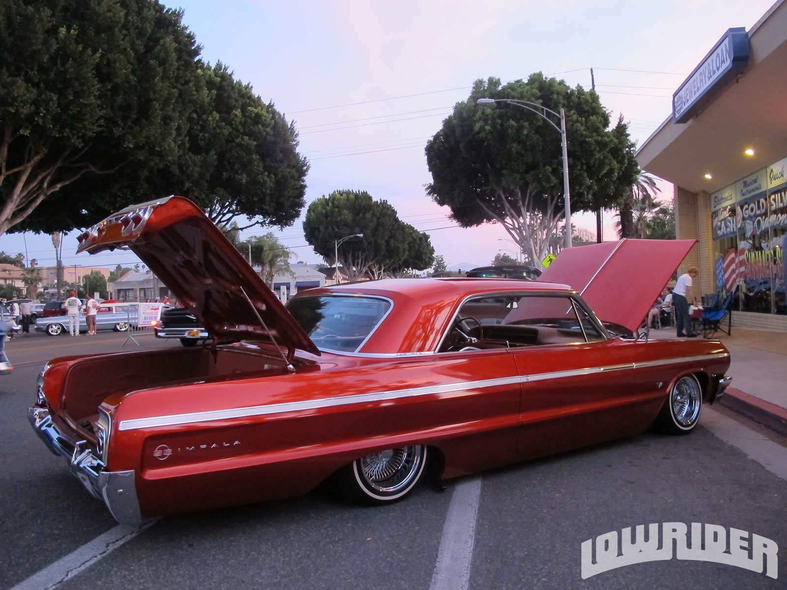 KN Filters Presents The Show And Go Car Show For Charity - Lowrider magazine car show