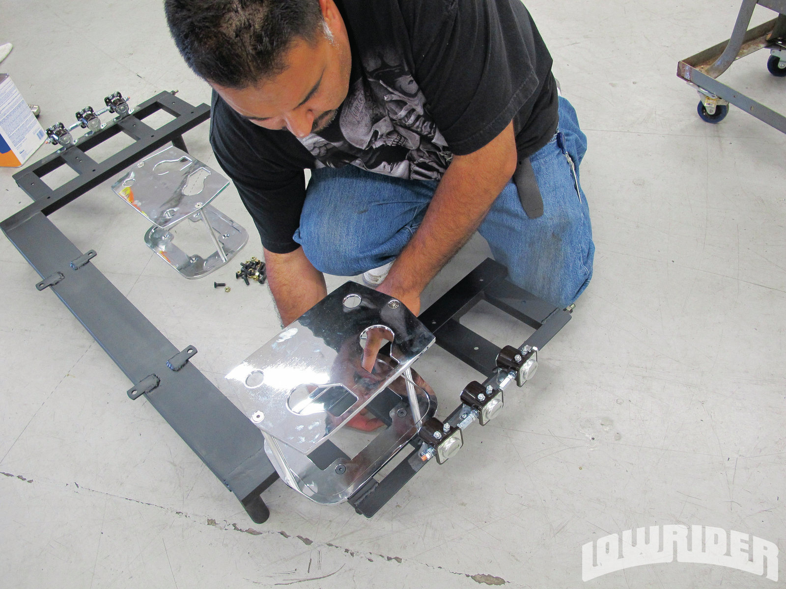Cce Hydro Install Ims Metal Hydraulic Rack