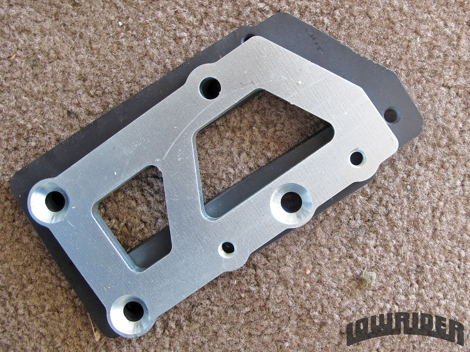 <strong>14</strong>. There are several motor plates that will give you the stock location or that can pull the engine forward, depending on your needs.