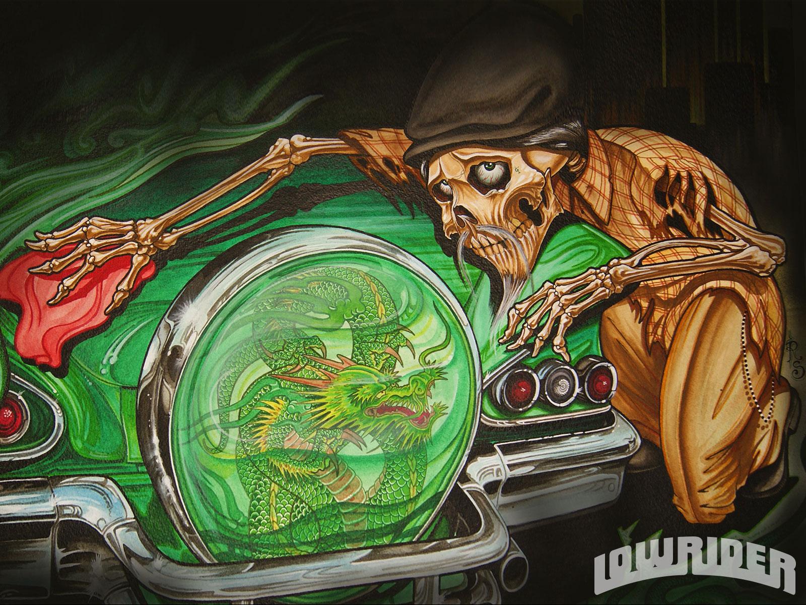Rob Struven Art - Lowrider Magazine
