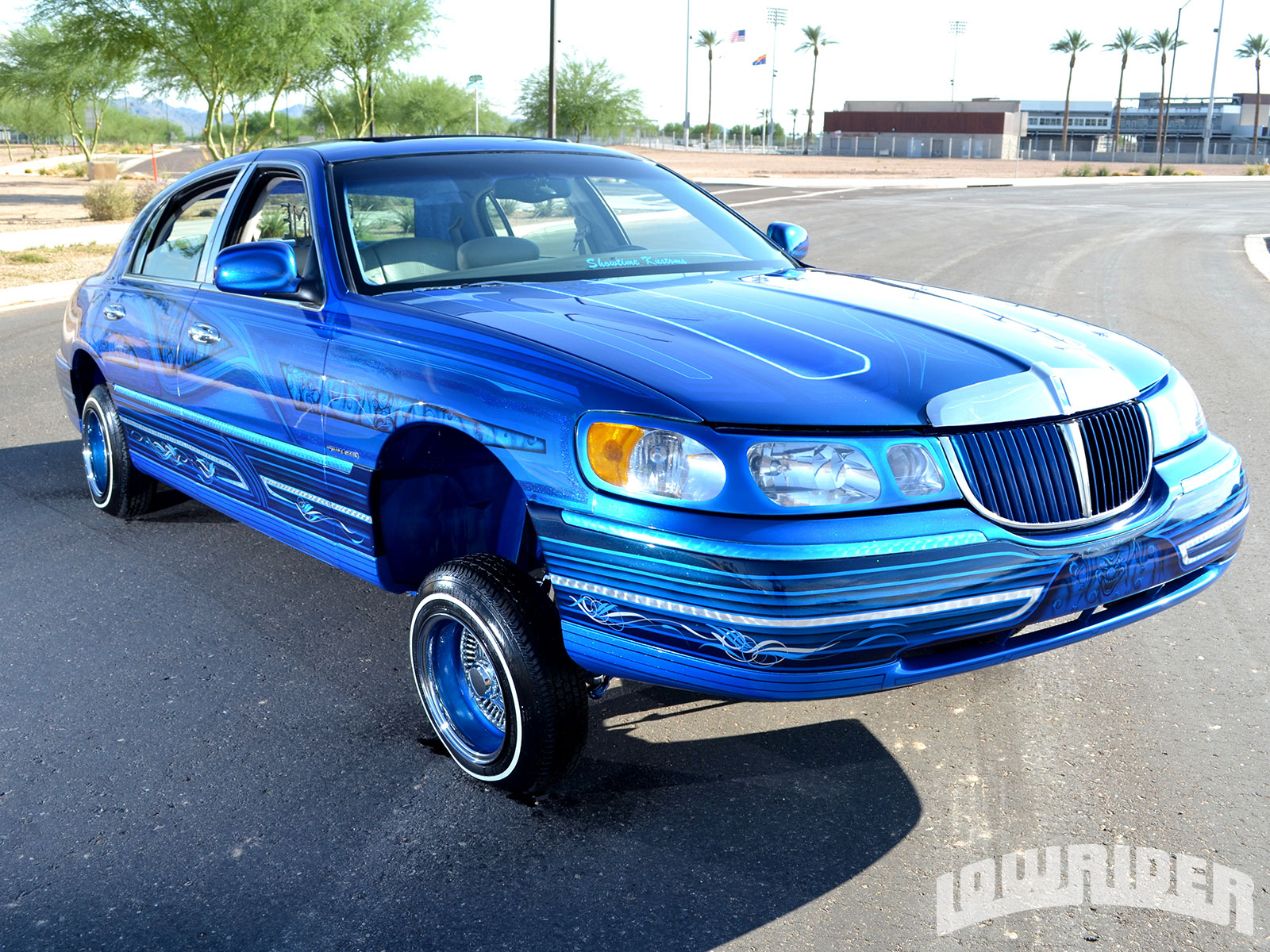 1998 Lincoln Town Car Lowrider Magazine