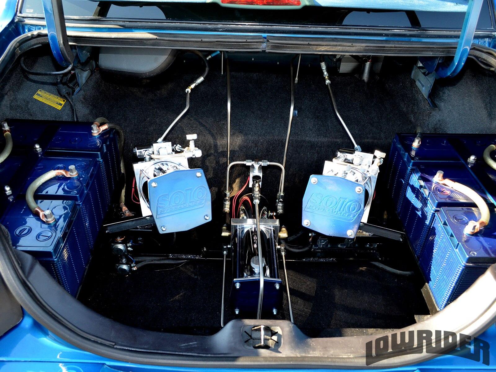 1998 Lincoln Town Car Hydraulic Setup Lowrider