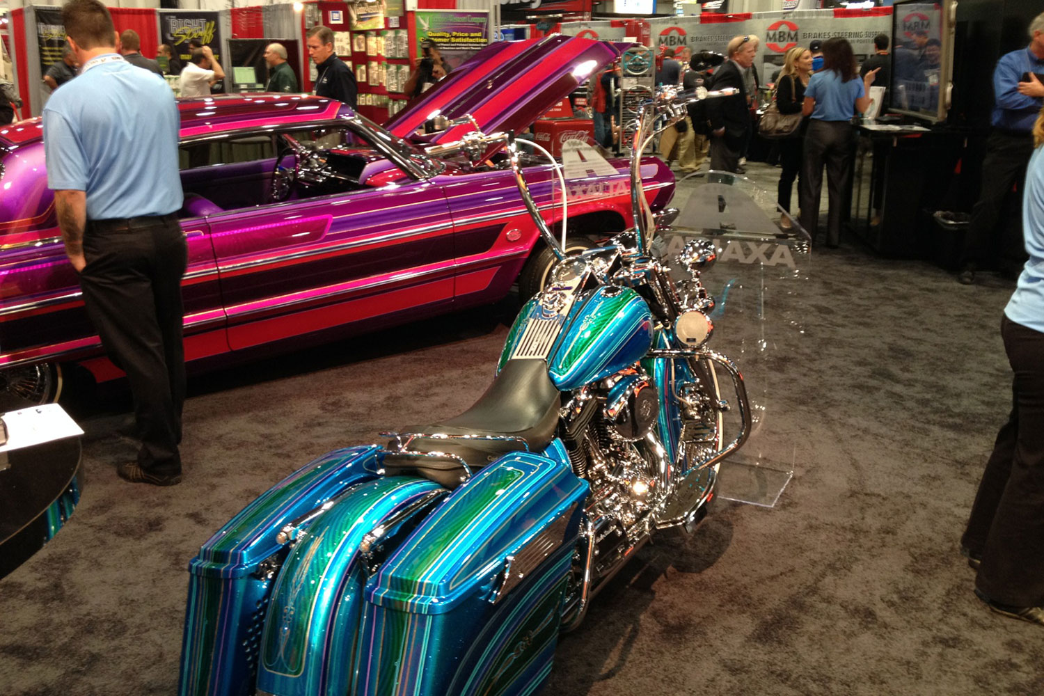 Ppg Colors Automotive >> Automotive Custom Paints at SEMA - Lowrider Magazine