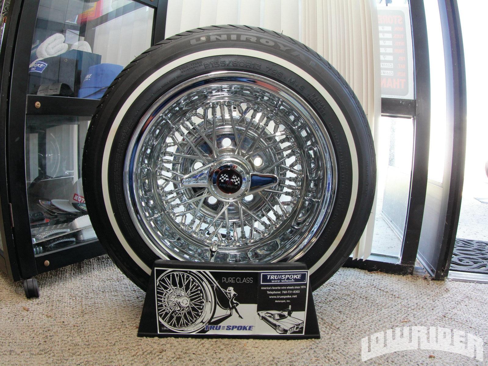 TrueSpoke Wire Wheels - Lowrider Magazine