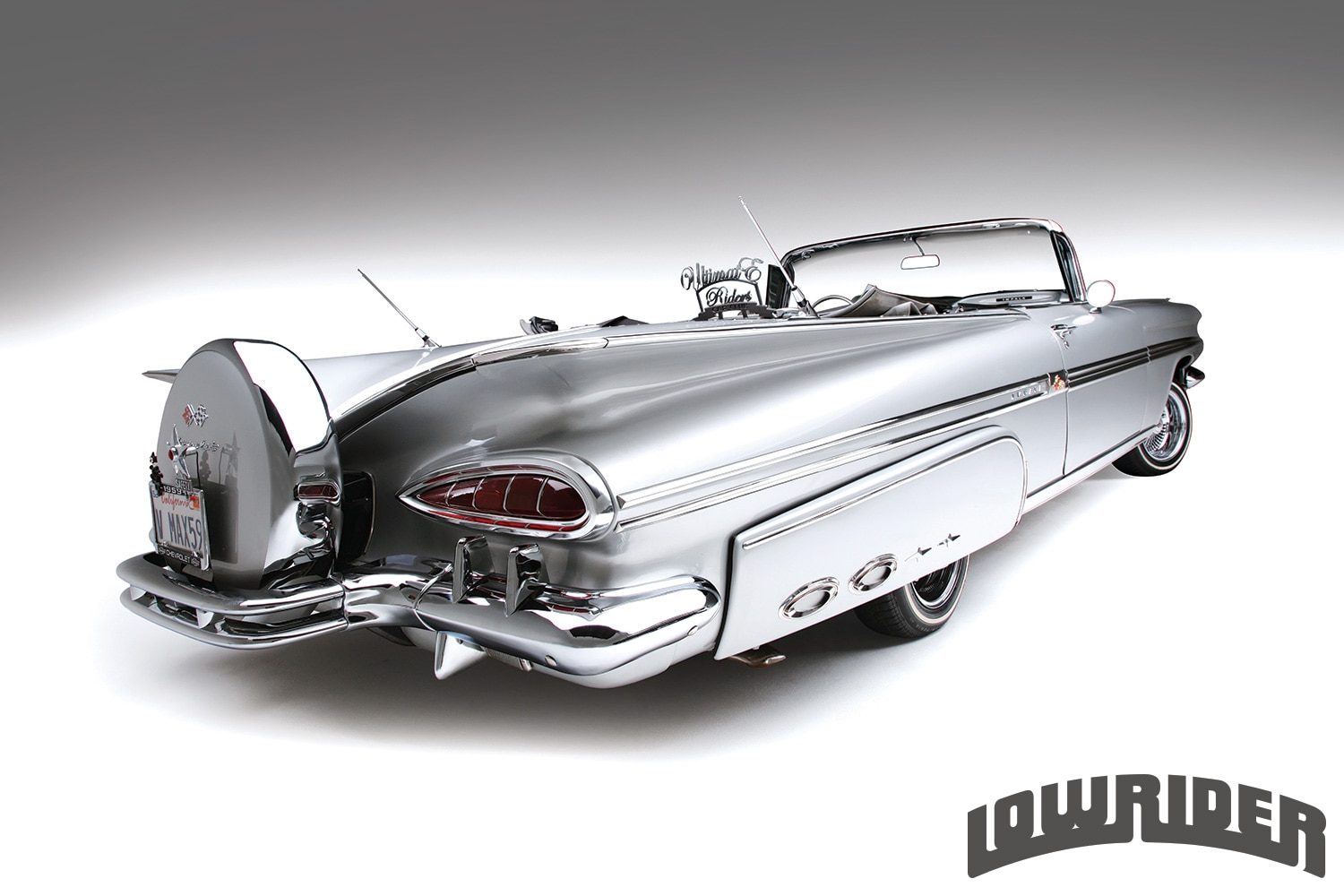 1958 And 1959 Chevrolet Impala Convertibles Lowrider