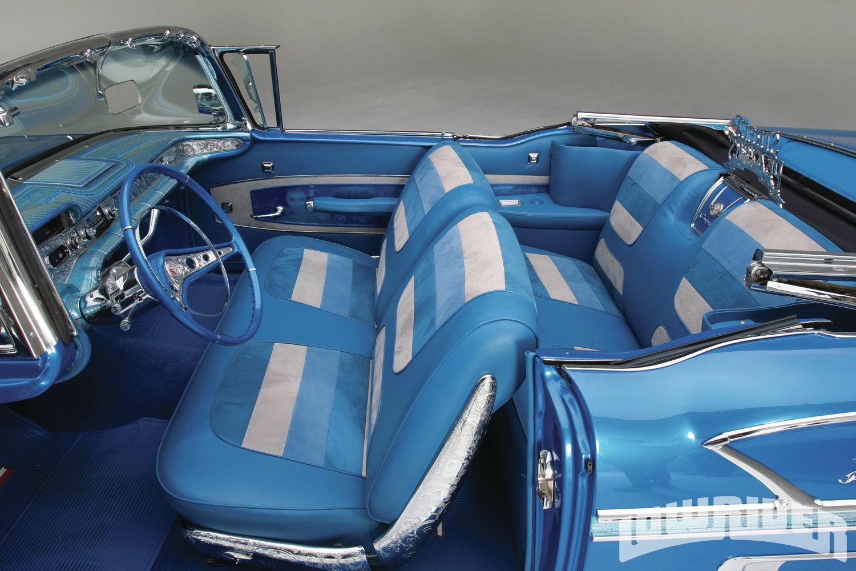 1958 chevrolet impala convertible lowrider magazine for Chevrolet impala 2013 interior