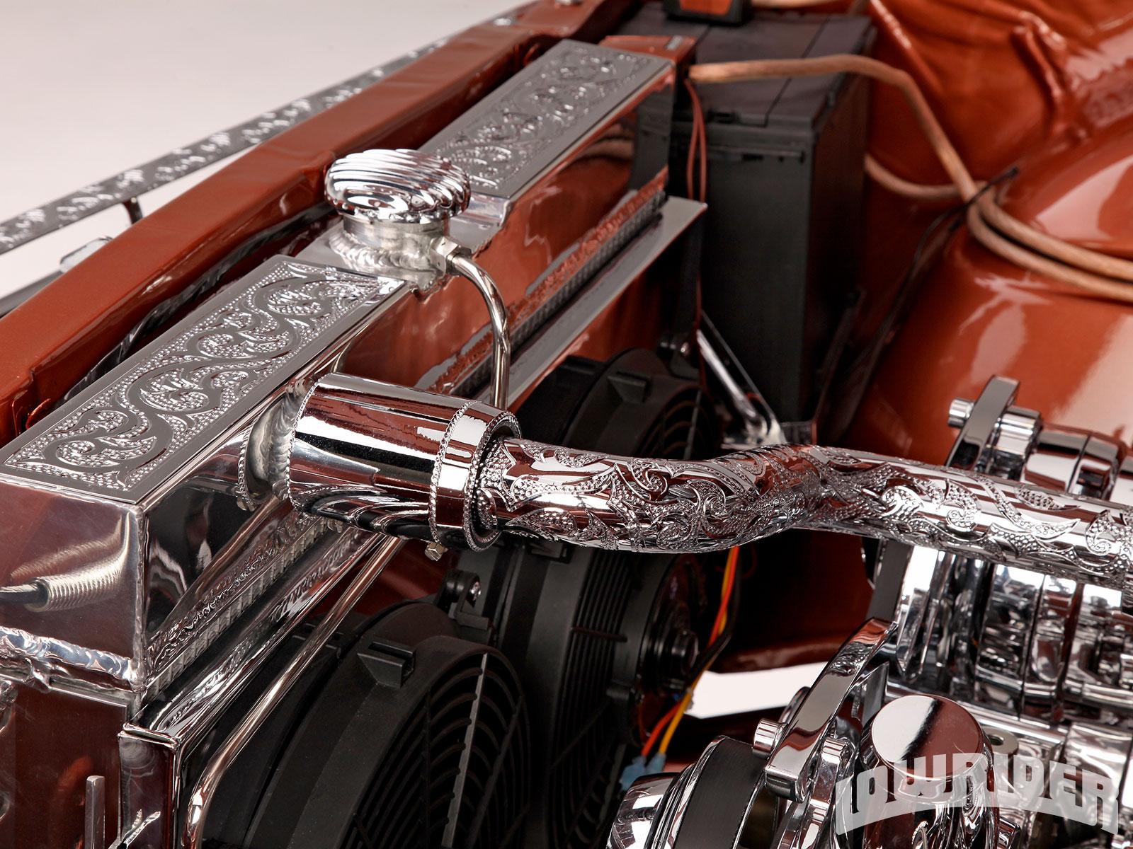 Chevrolet Impala Custom Engraved Radiator Hose