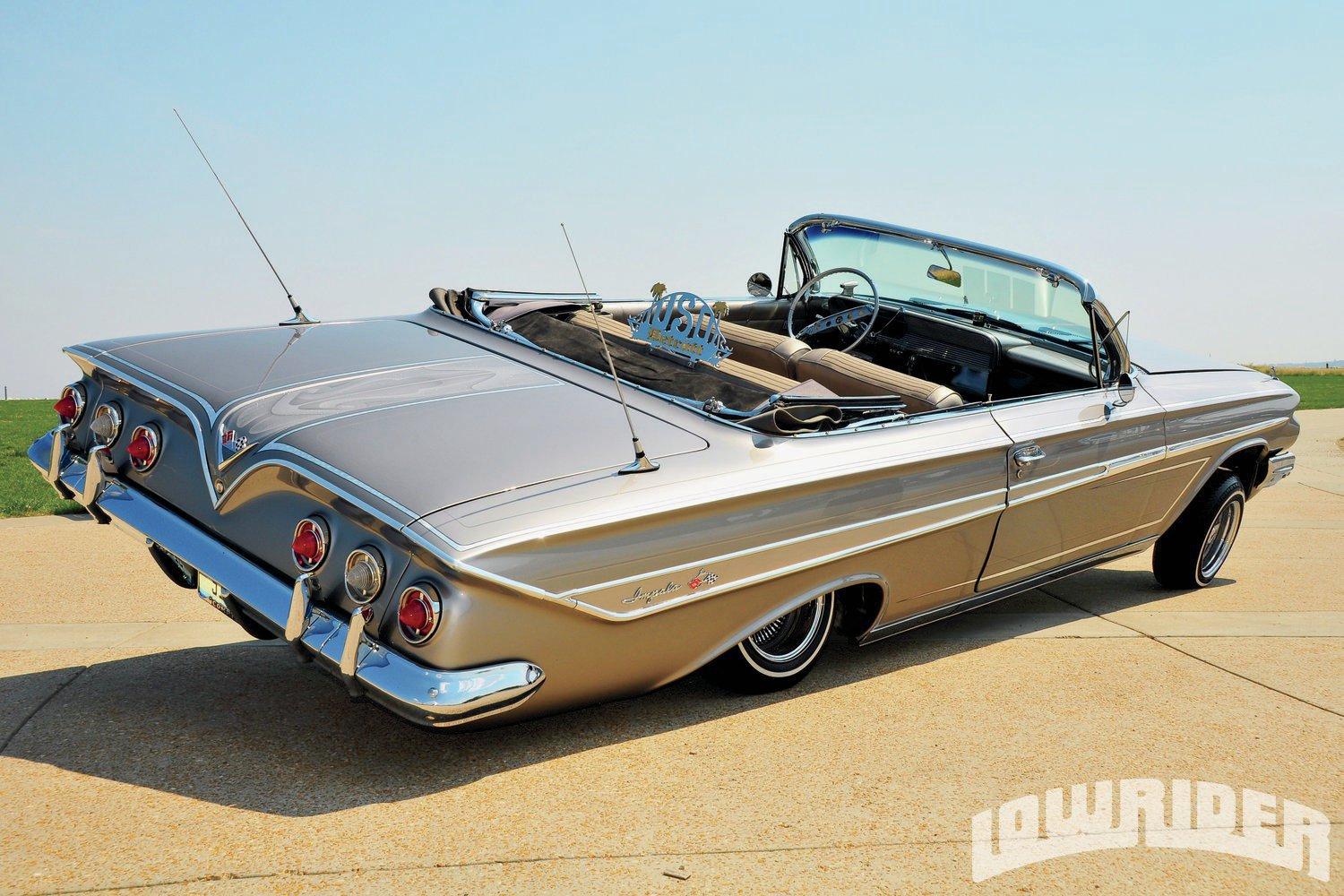 Chevy Muscle Cars >> 1961 Chevrolet Impala Convertible - Lowrider Magazine