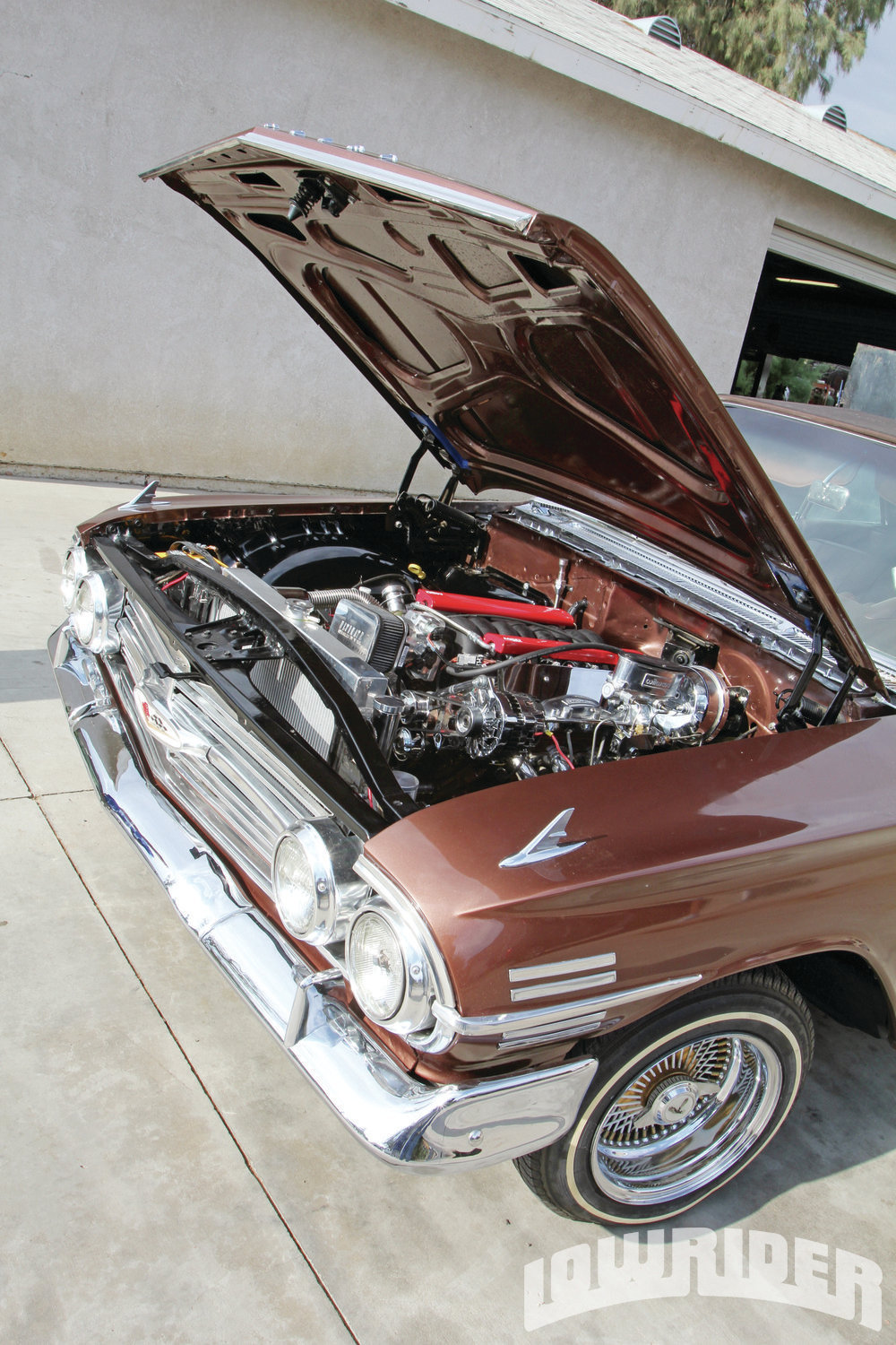 <strong>1</strong>. This '60 Impala was ready to be worked on.