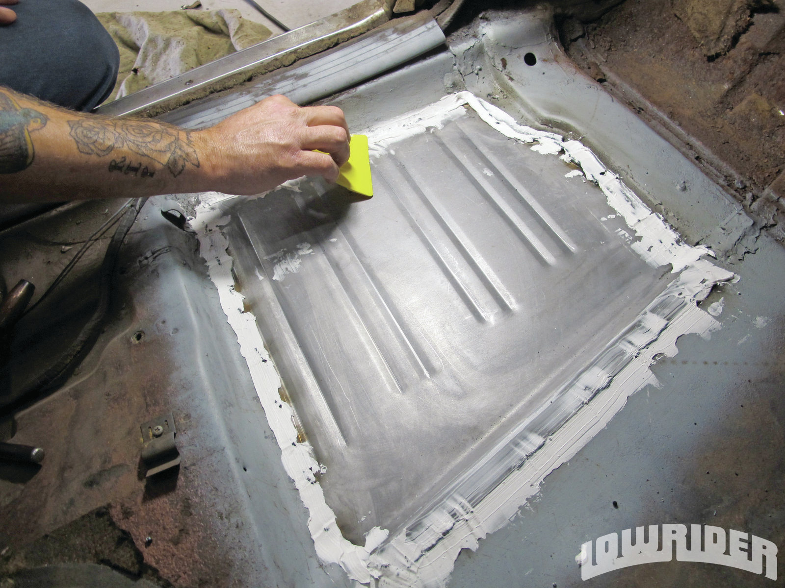 Sheet Metal Repair Lowrider Magazine