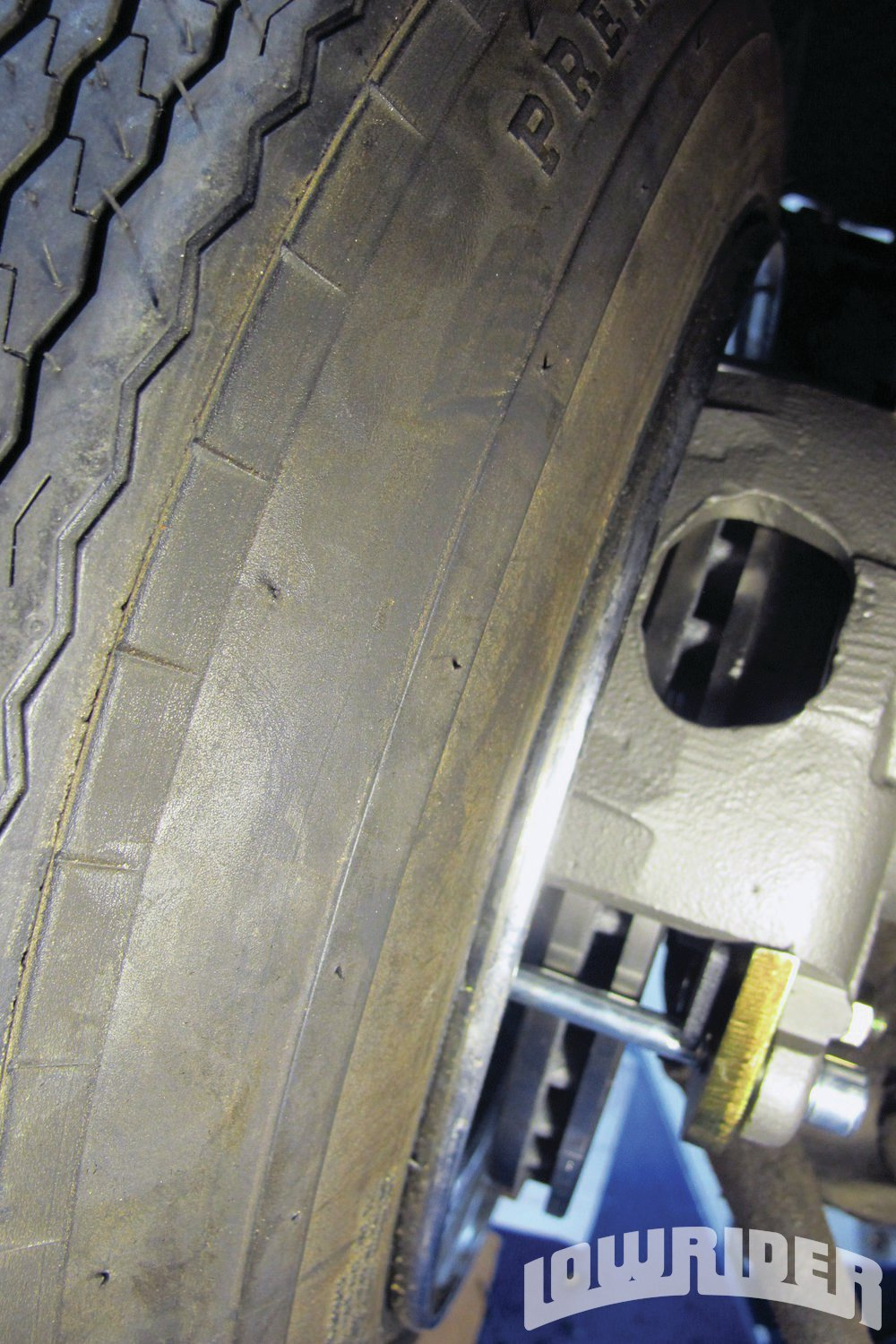 <strong>23</strong>. The new brake cleared our 14-inch reverse wheels. If you decide to use standard wheels, you might need to use 15-inch as recommended by POL.