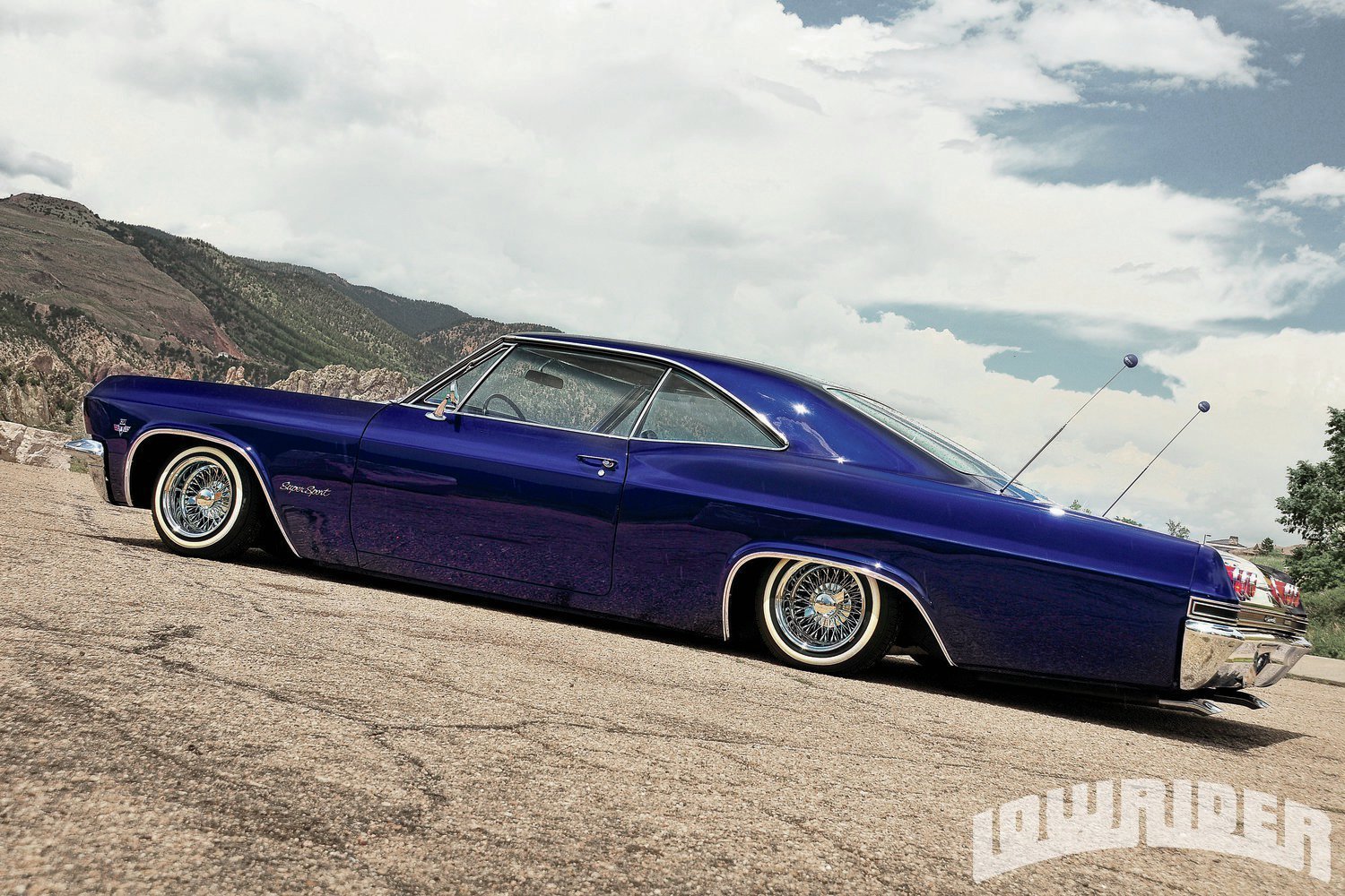 Paint The House 1965 Chevrolet Impala Ss Lowrider Magazine