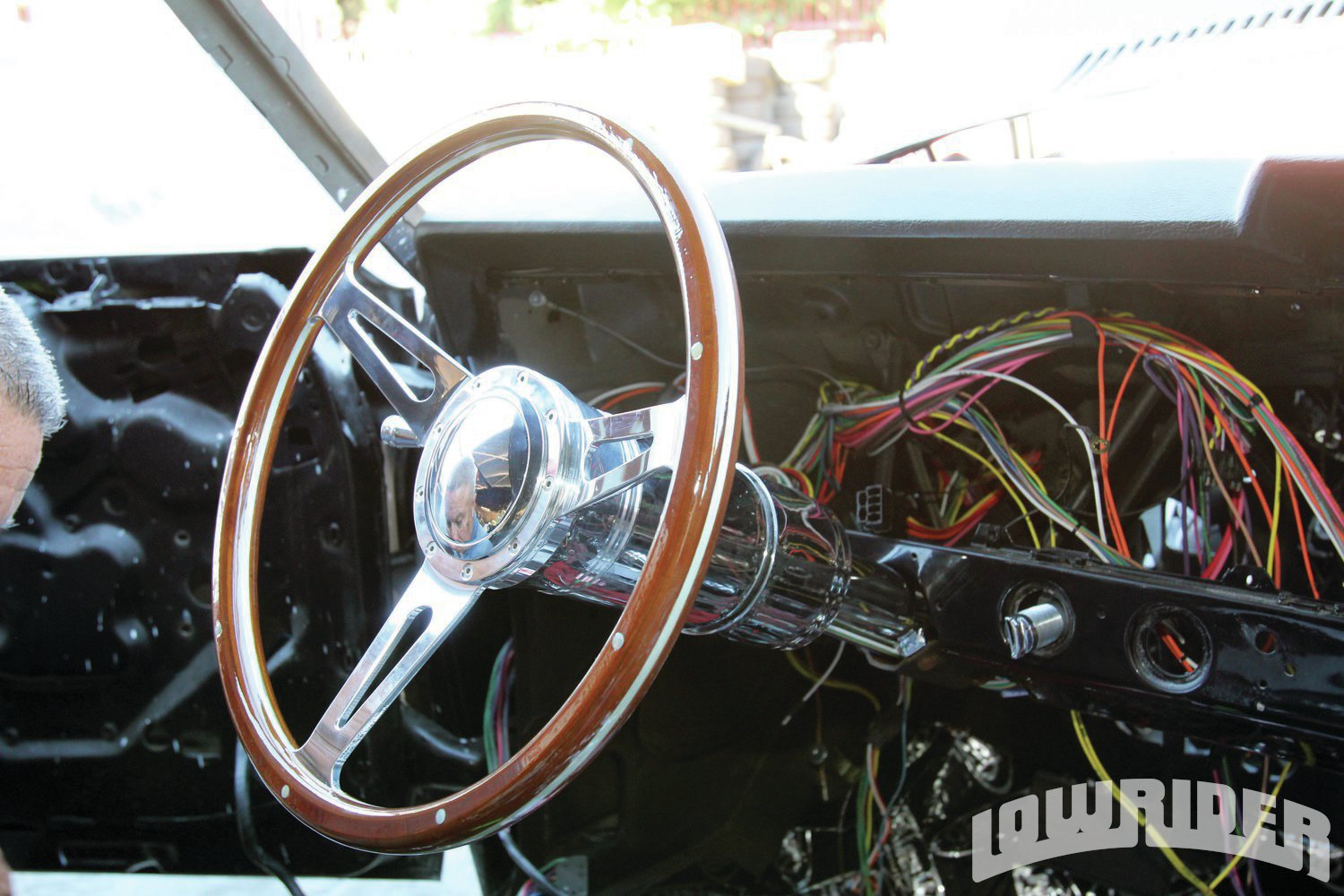 <strong>16</strong>. Our Ididit column looked good with the new GT Performance steering wheel.