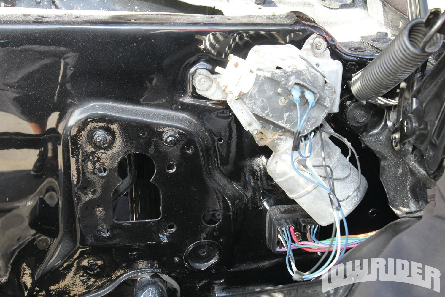 <strong>17</strong>. For now, we are just going to use this windshield wiper motor as we are going to update a more modern one within the next few months.