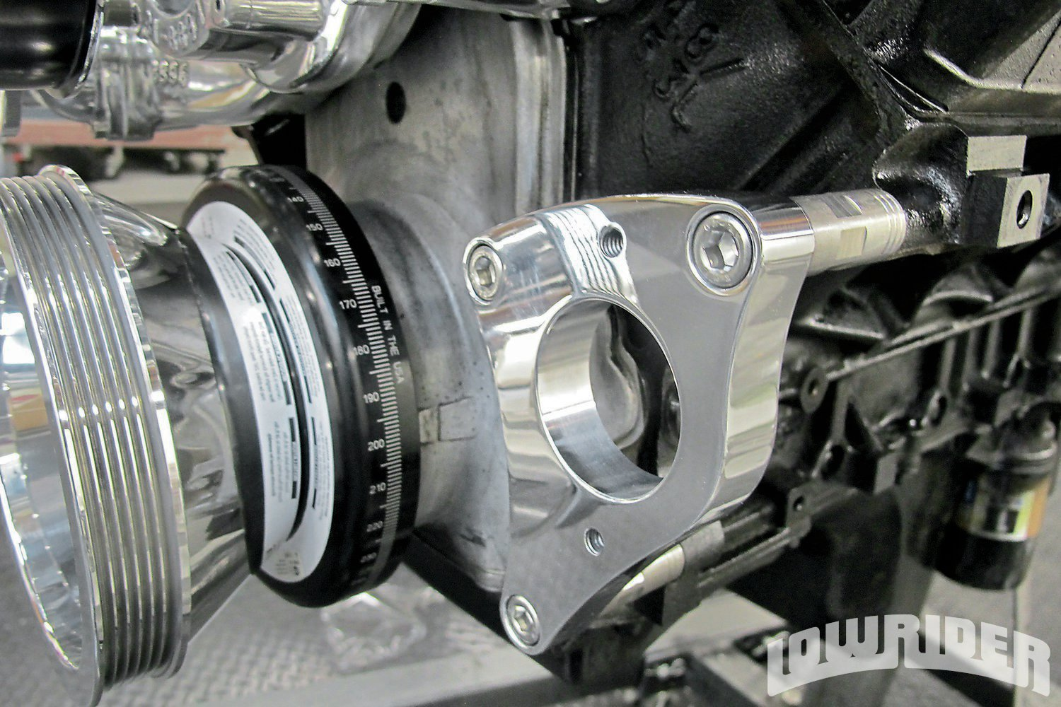 How Much Is A Power Steering Pump >> Billet Drive Pulleys For Your LS Engine - Lowrider Magazine