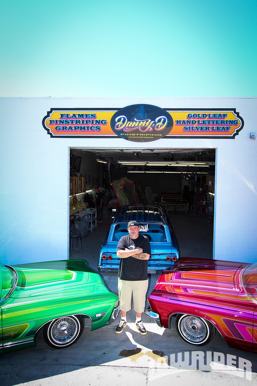 Danny D Lowrider Magazine