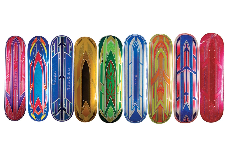 Tintaz Custom Skateboard Decks - Lowrider Magazine