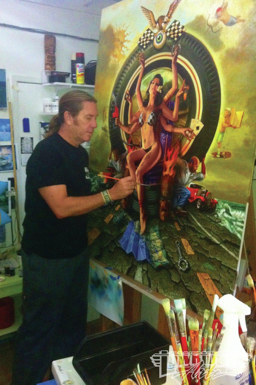 Rick Rietveld - Featured Artist - Lowrider Arte Magazine