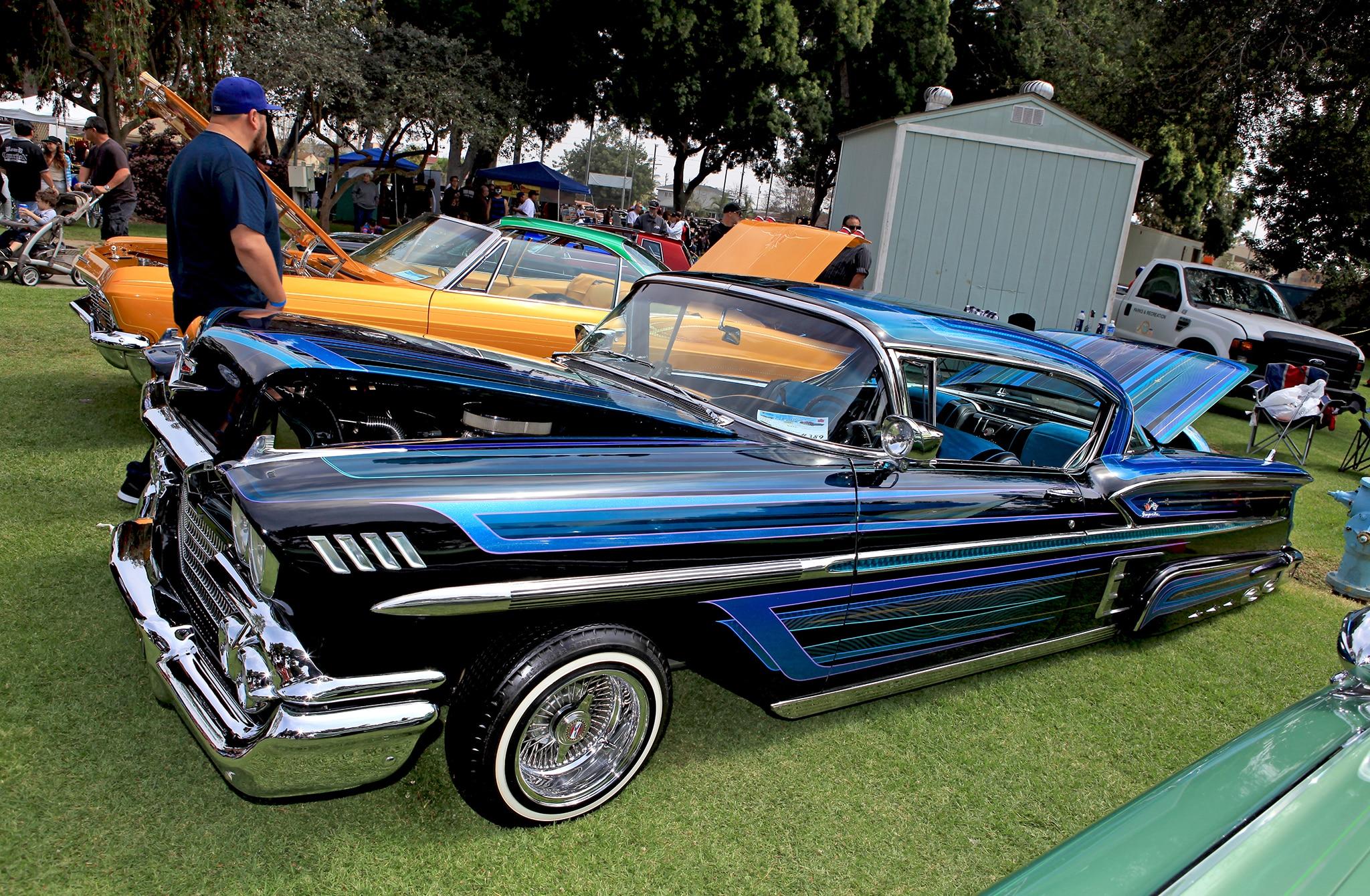 azalea classic car show cadillac lowrider 02 Lowrider
