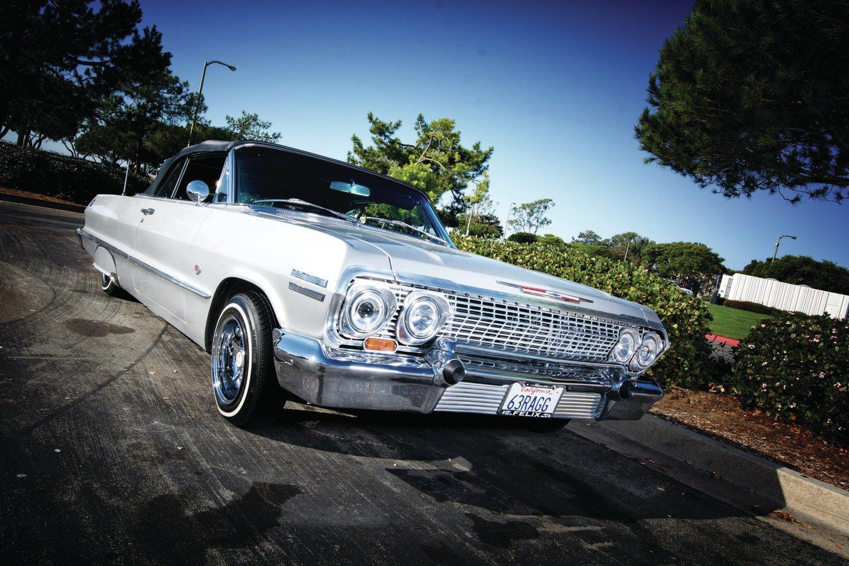 1963 Chevrolet Impala Convertible - Platinum Plus