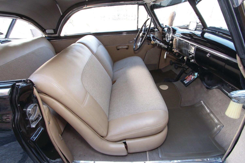 1950 Chevrolet Deluxe Tan Leather Interior