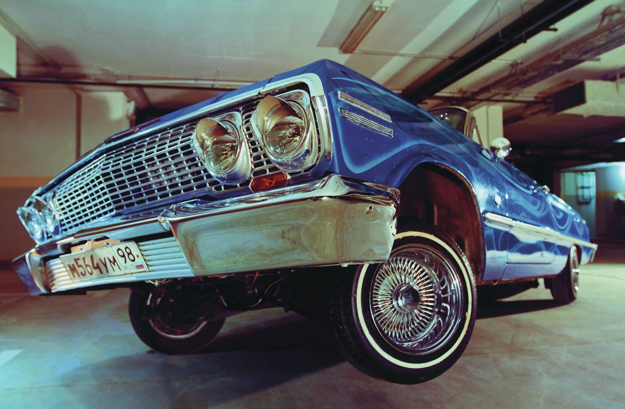 1963 Chevrolet Impala Ss A Shot Of Blue Vodka