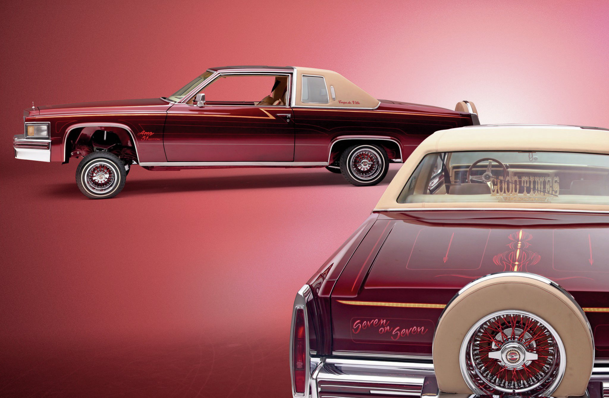 1977 Cadillac Coupe Deville Brandy And Seven