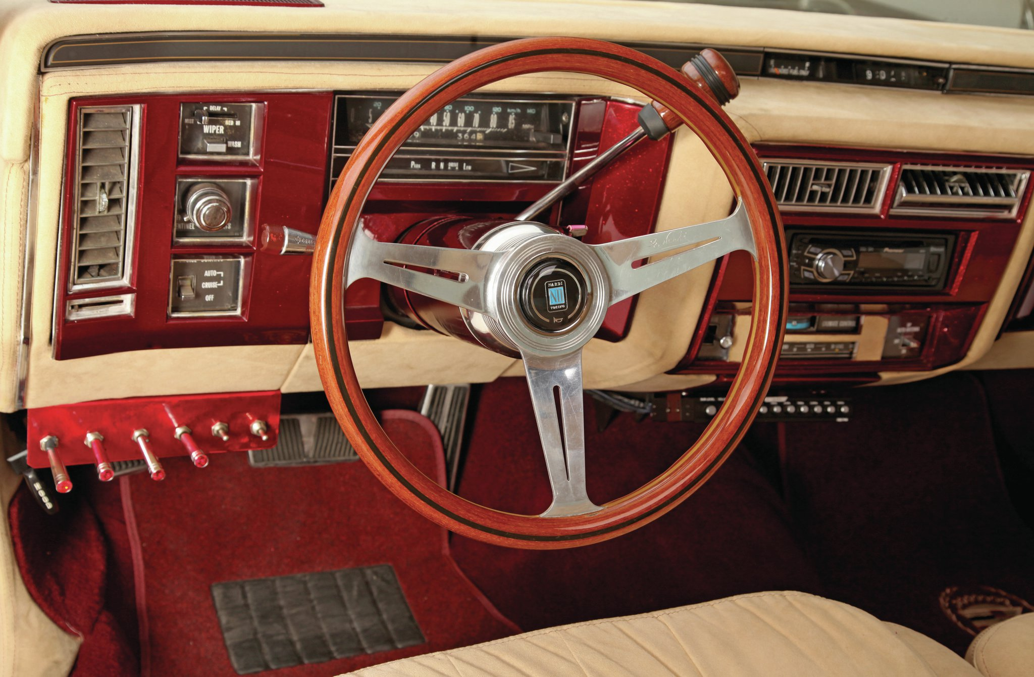 1977 Cadillac Coupe DeVille - Brandy And Seven