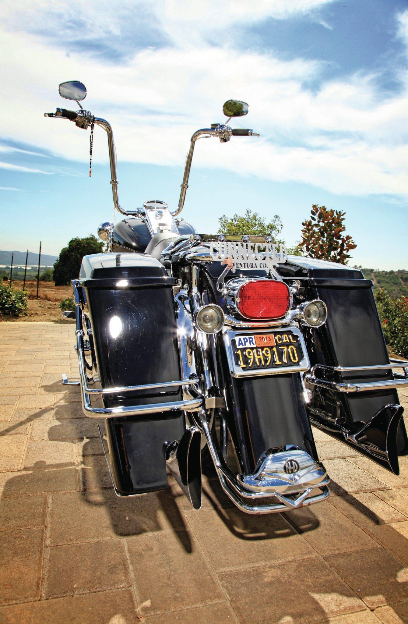 Harley Davidson Saddlebags: 2008 Harley Davidson Road King Classic