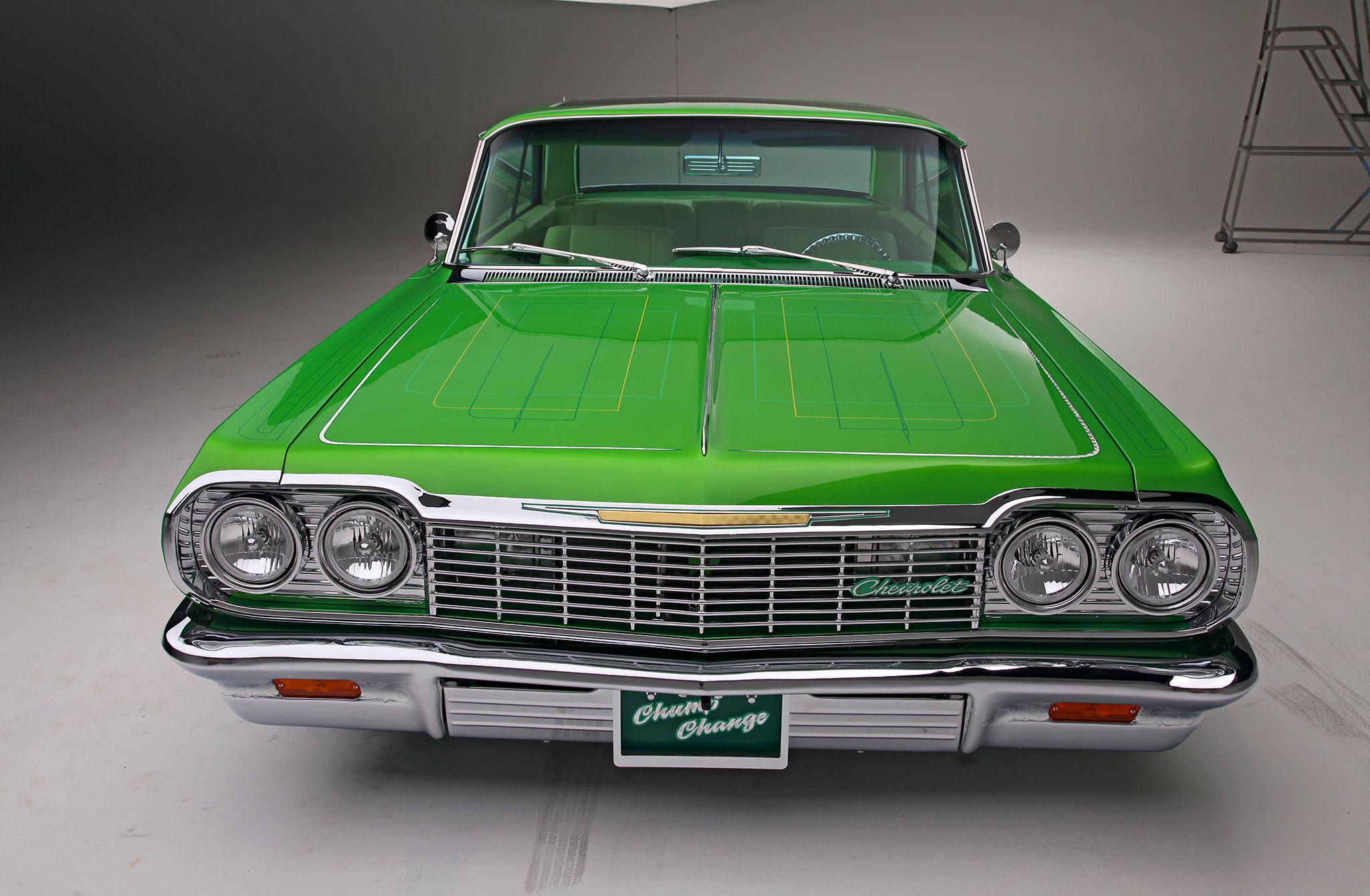 1964 Chevrolet Impala - Lime Green Machine