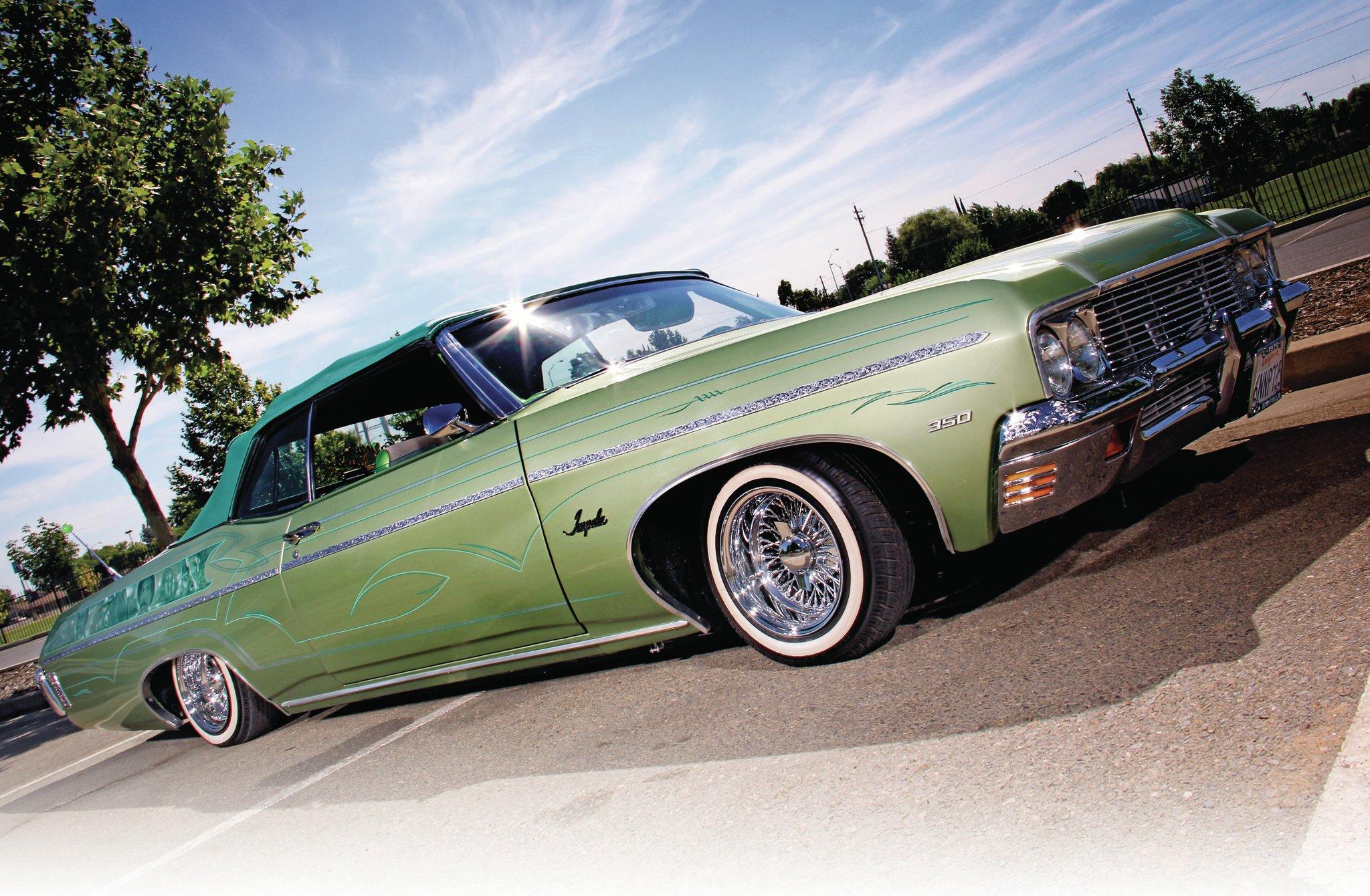 1970 Chevrolet Impala Convertible Los Jefes Los