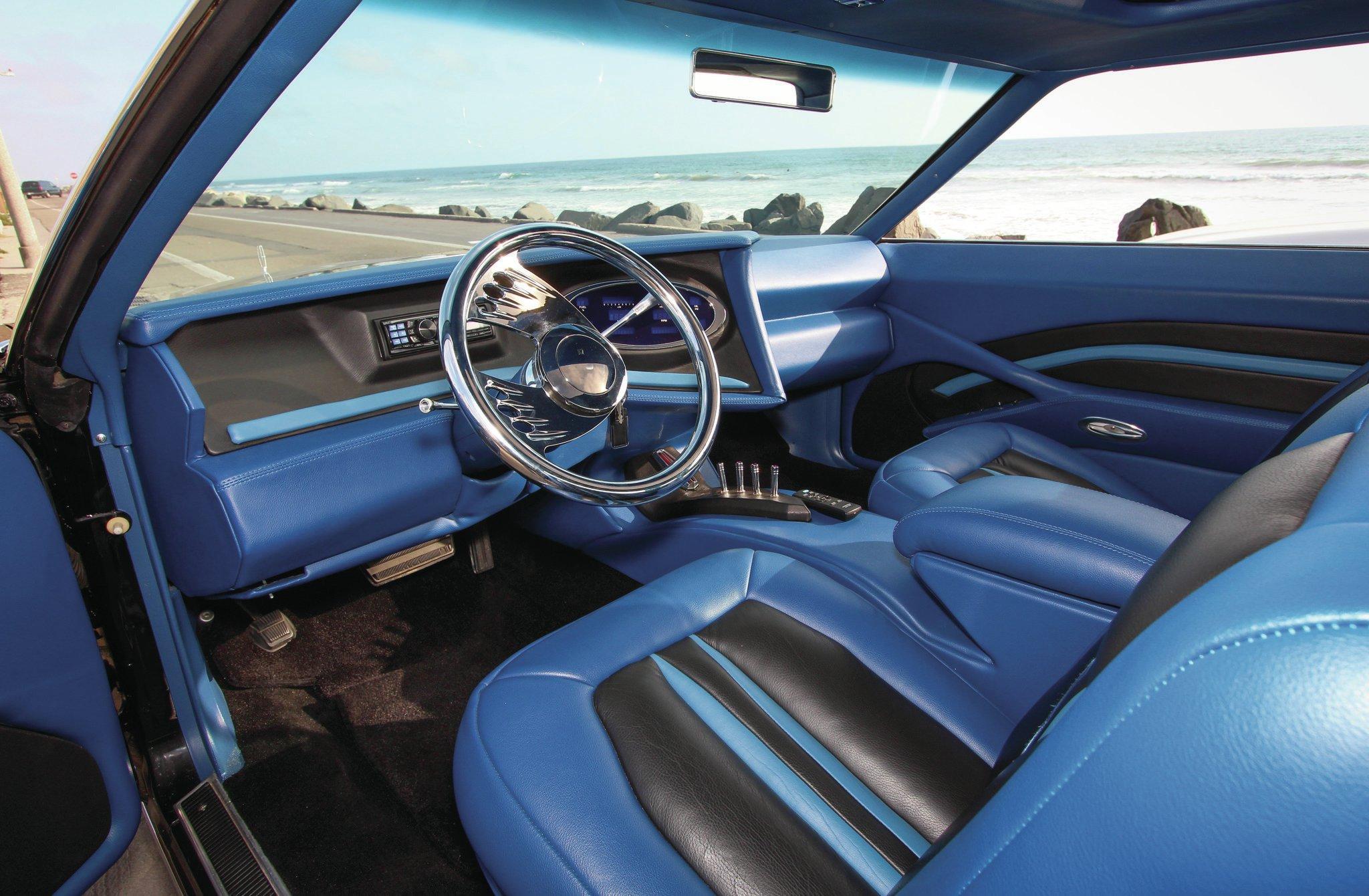 Lincoln Mark V Interior